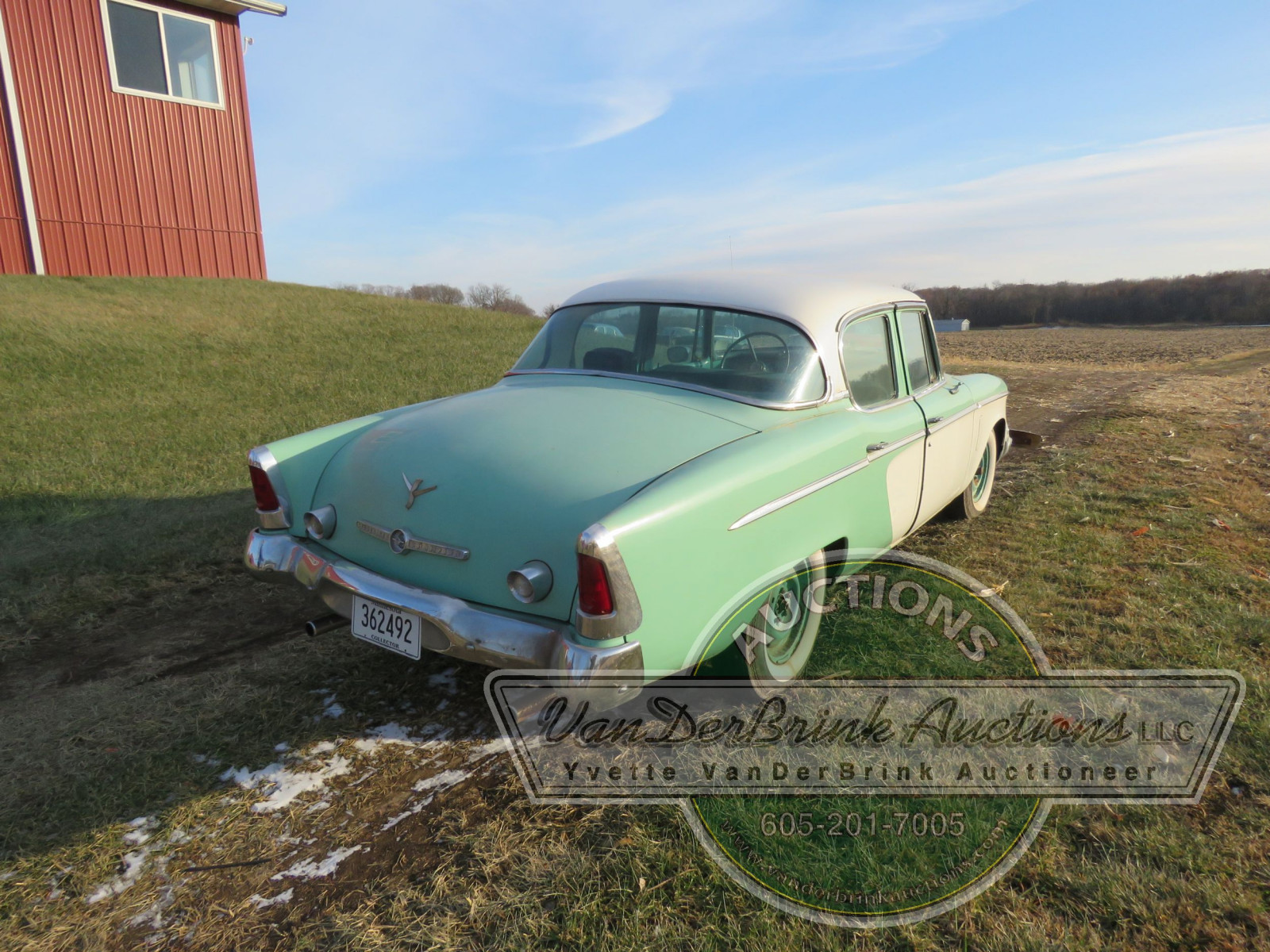 1955 Studebaker Champion 4dr Sedan - Image 6