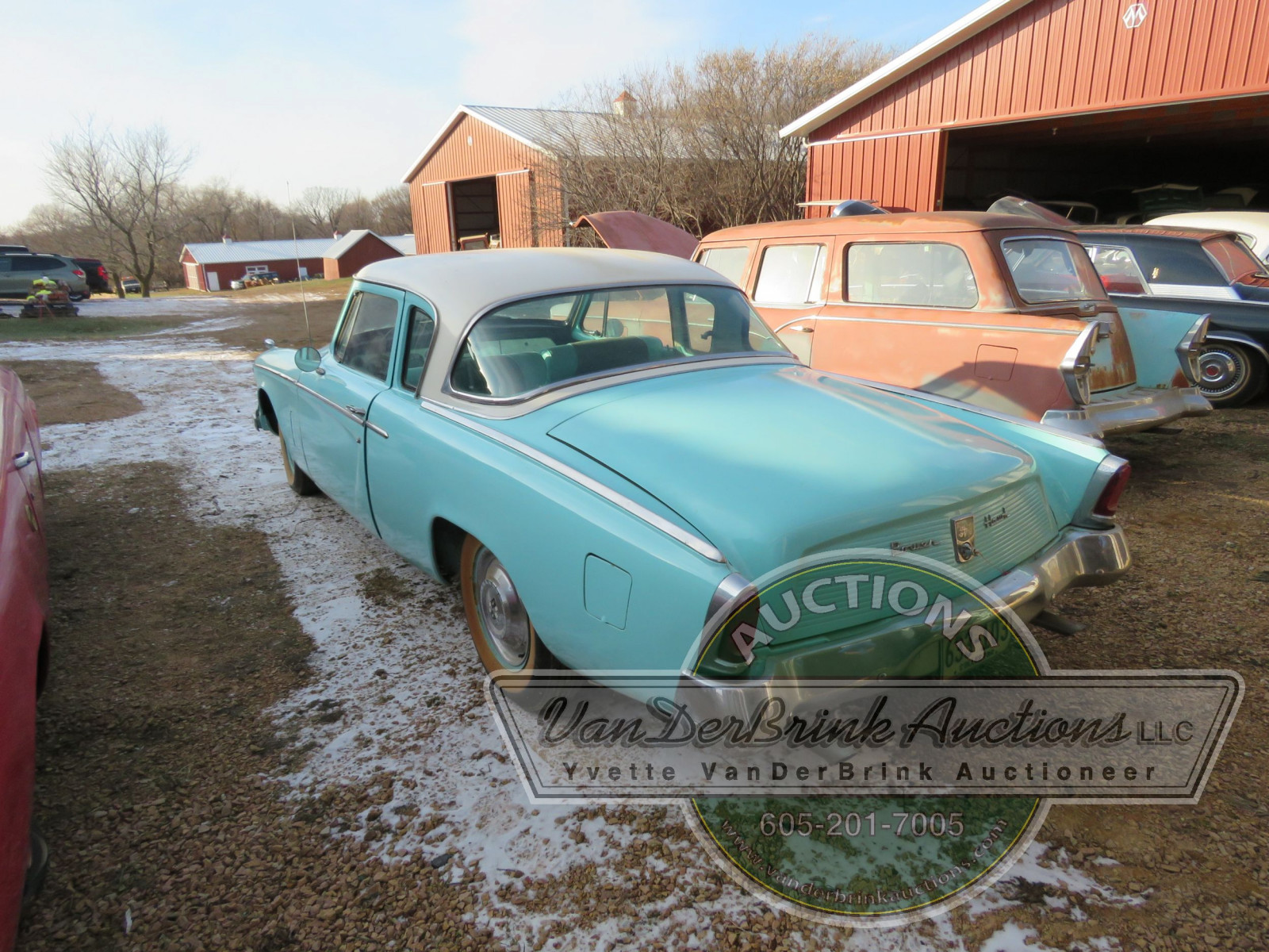1956 Studebaker Power Hawk 2dr Sedan - Image 4