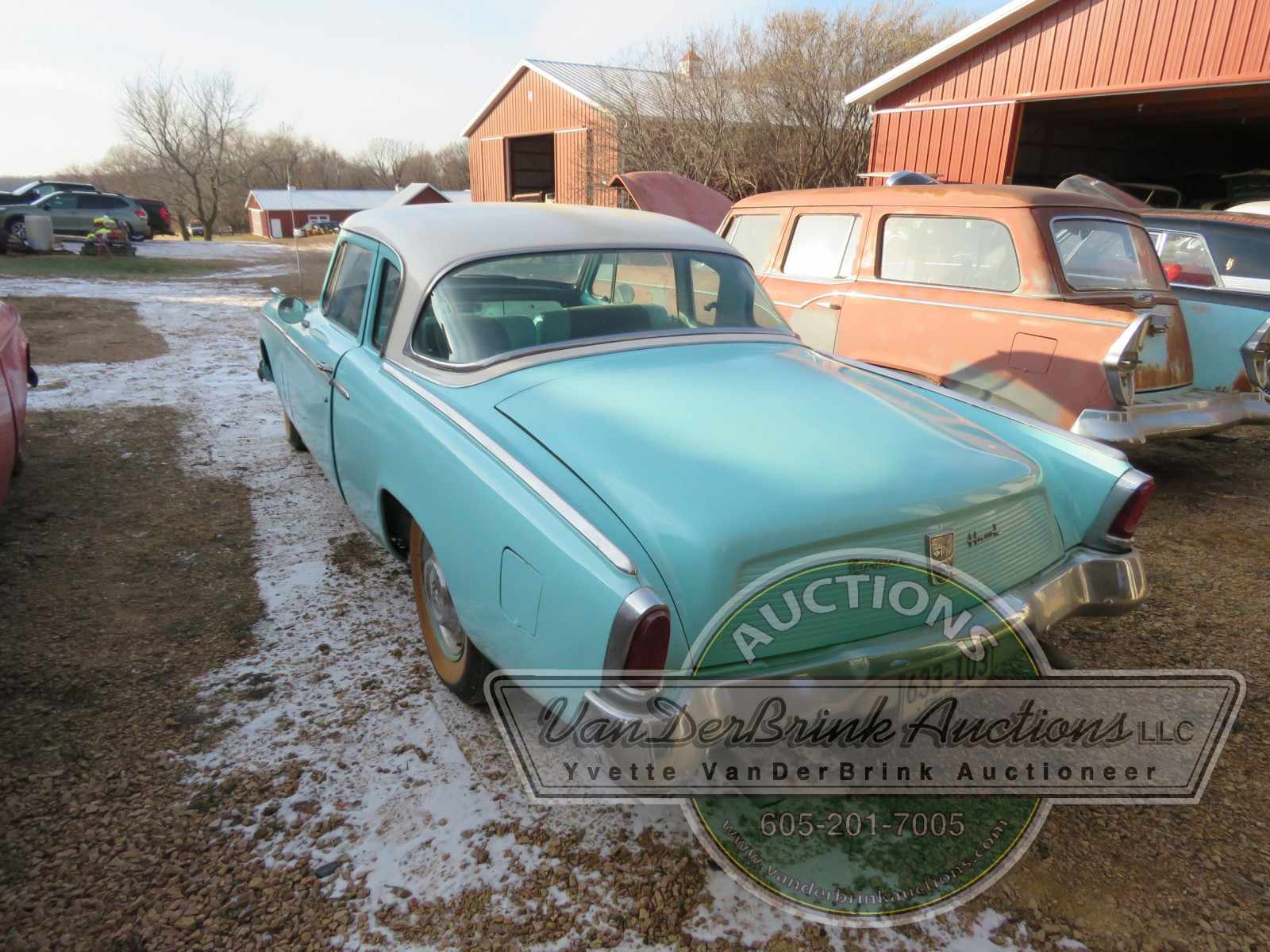 1956 Studebaker Power Hawk 2dr Sedan - Image 5