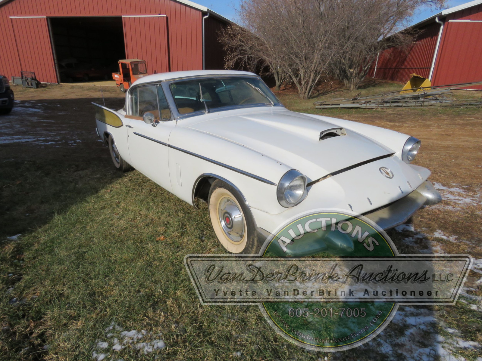 Rare 1958 Supercharged Packard Hawk - Image 1
