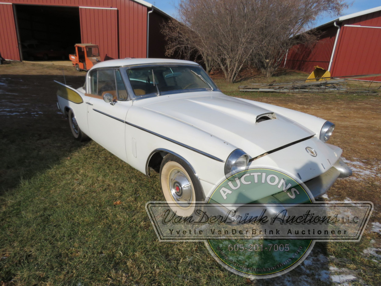 Rare 1958 Supercharged Packard Hawk - Image 3