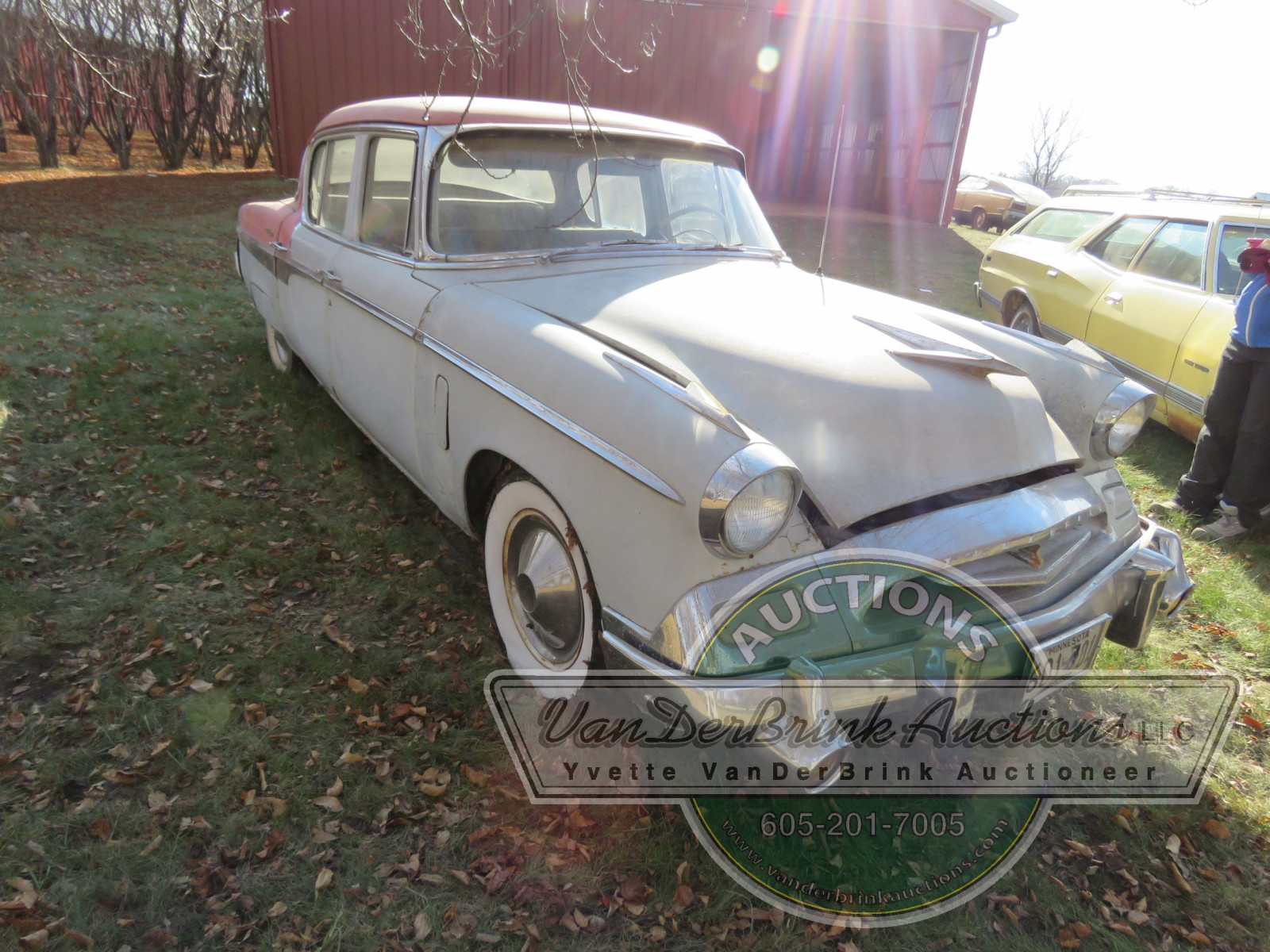 1955 Studebaker President Regal 4dr Sedan - Image 3