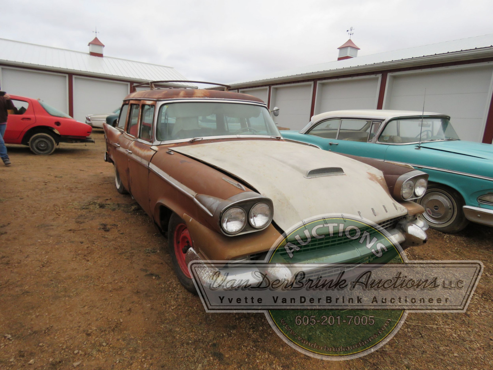 1958 Packard 4dr Wagon - Image 1