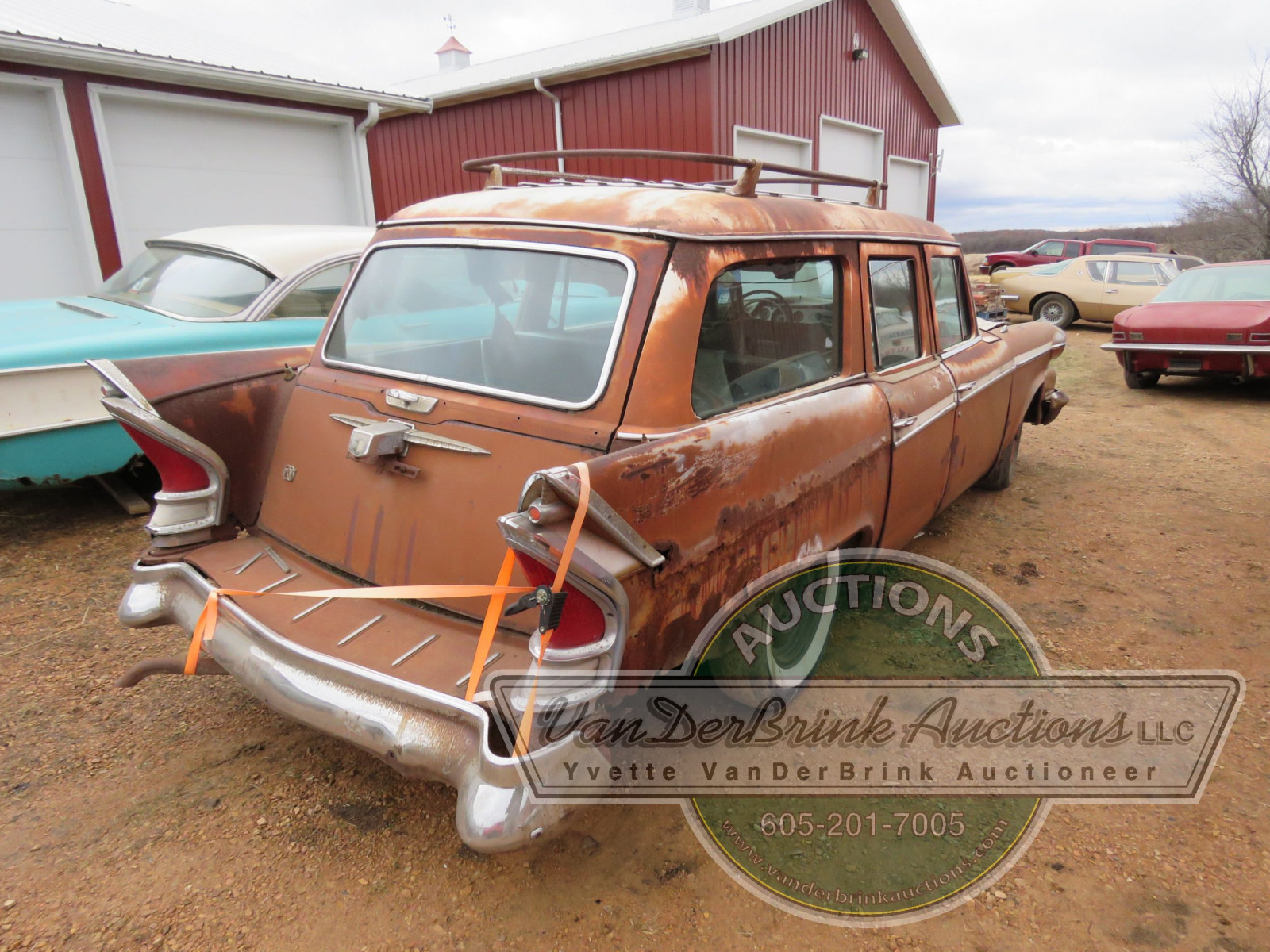 1958 Packard 4dr Wagon - Image 7
