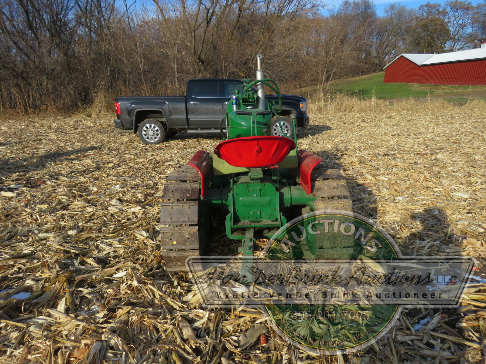 Oliver HG Cletrac Tractor - Image 7