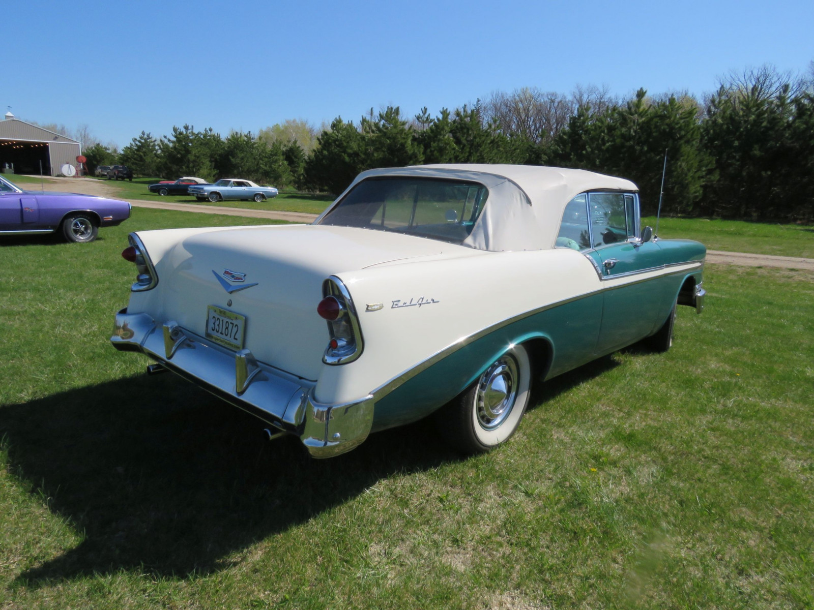 1956 Chevrolet Bel Air Convertible - Image 7