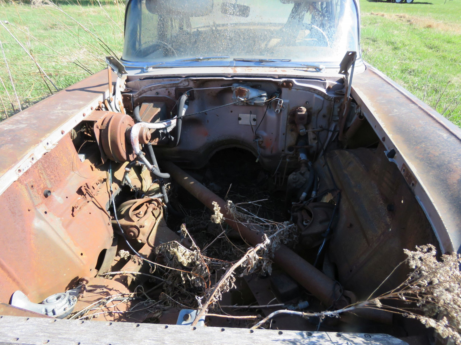 1957 Chevrolet 4dr Sedan parts only - Image 2