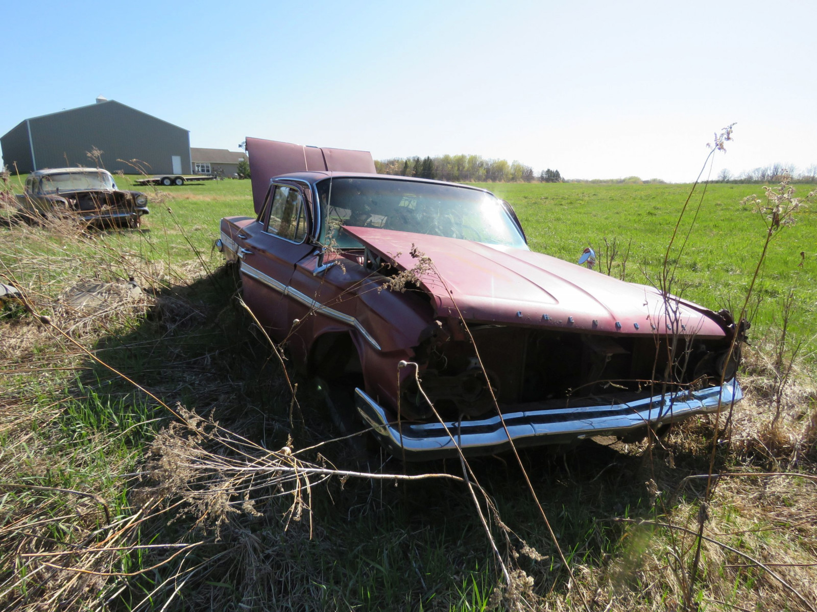 1961 Chevrolet 4dr Sedan parts only - Image 1