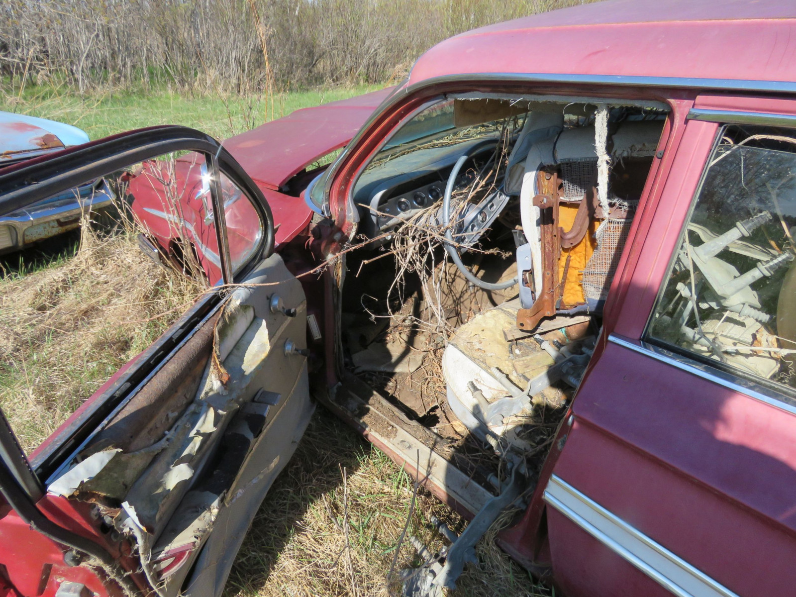 1961 Chevrolet 4dr Sedan parts only - Image 3
