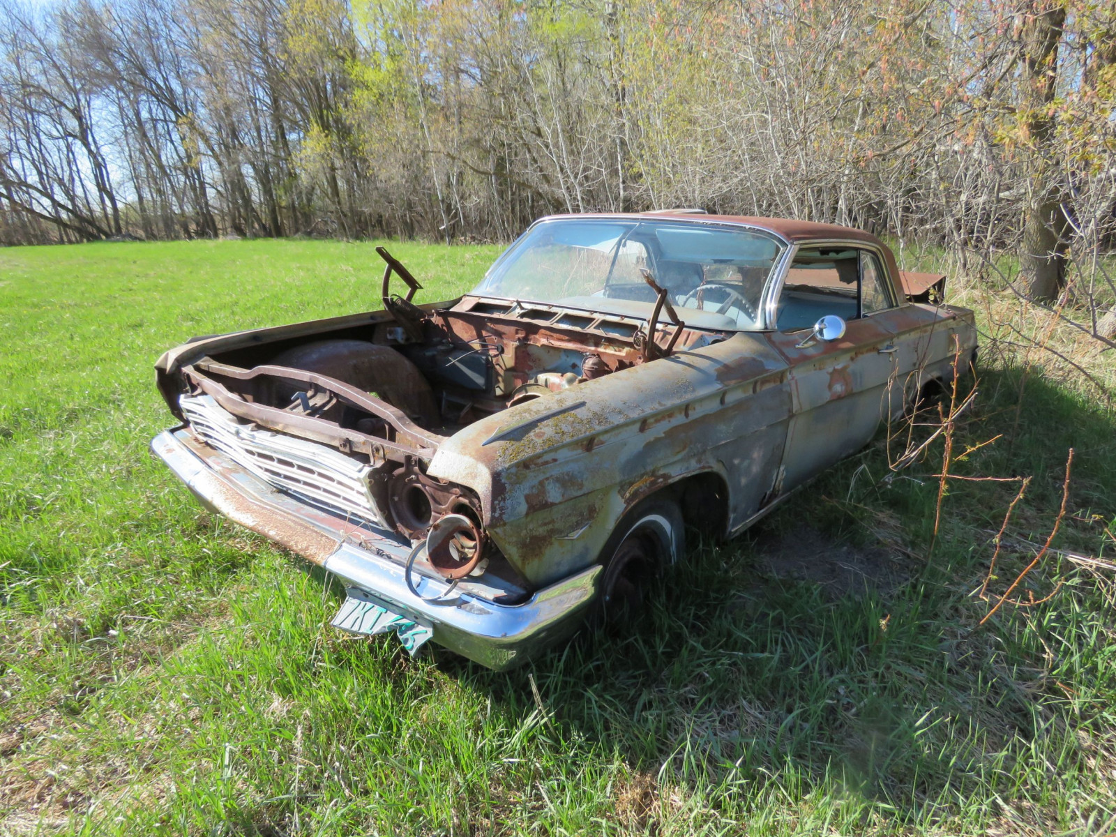 1962 Chevrolet 2dr HT rough Shell only - Image 1