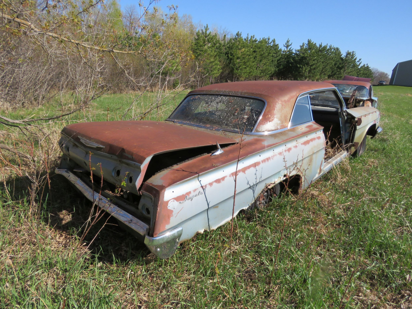 1962 Chevrolet 2dr HT rough Shell only - Image 3