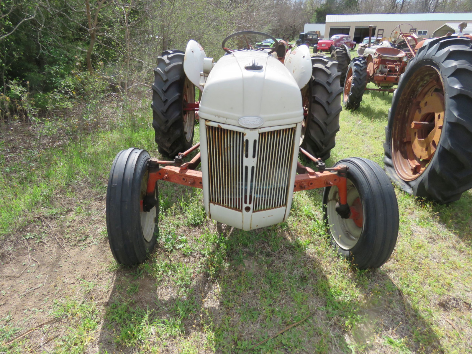 FORD N SERIES TRACTOR with 3PT MOWER - Image 2