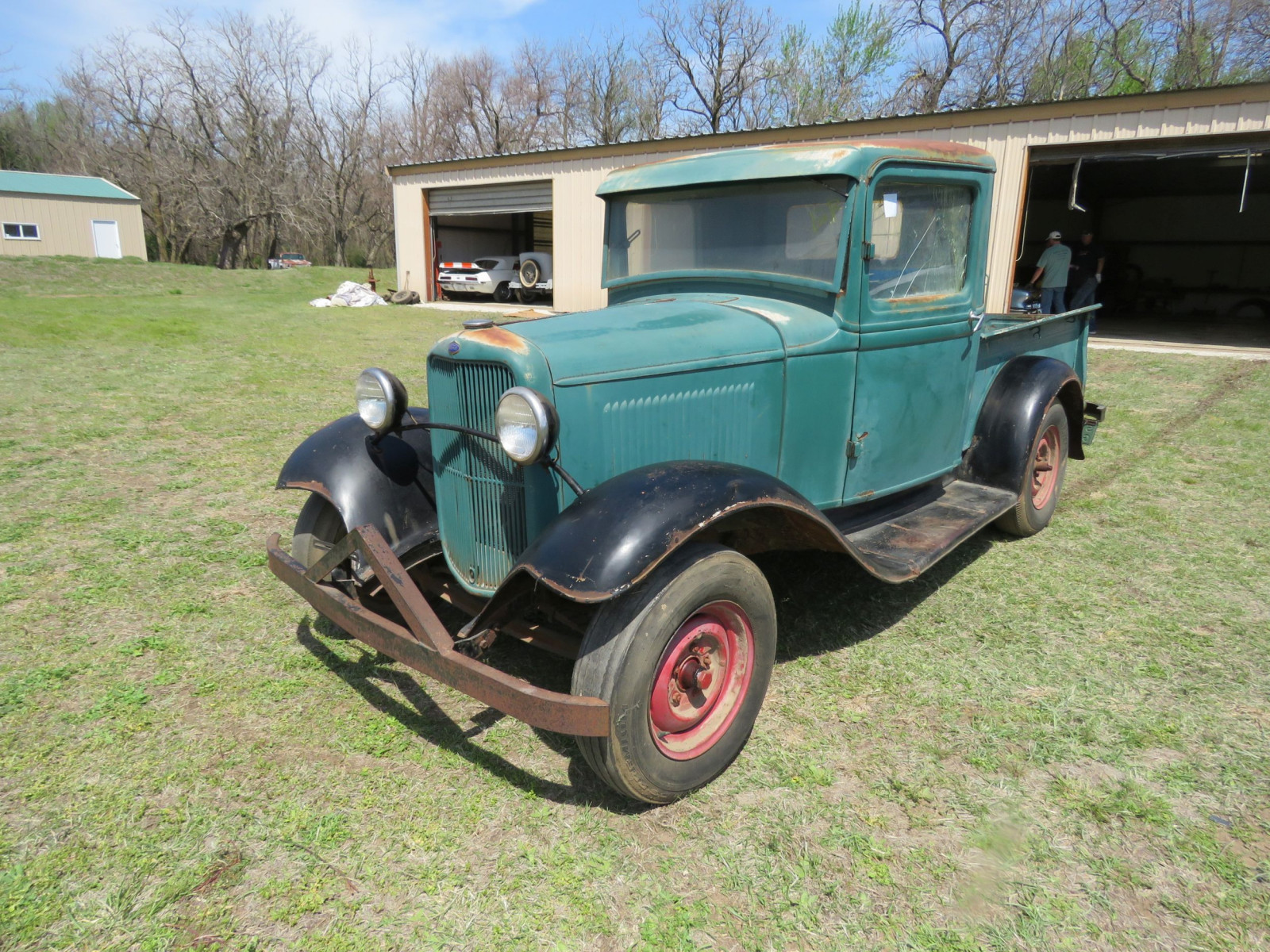 1932 FORD Model B PICKUP SURVIVOR - Image 1