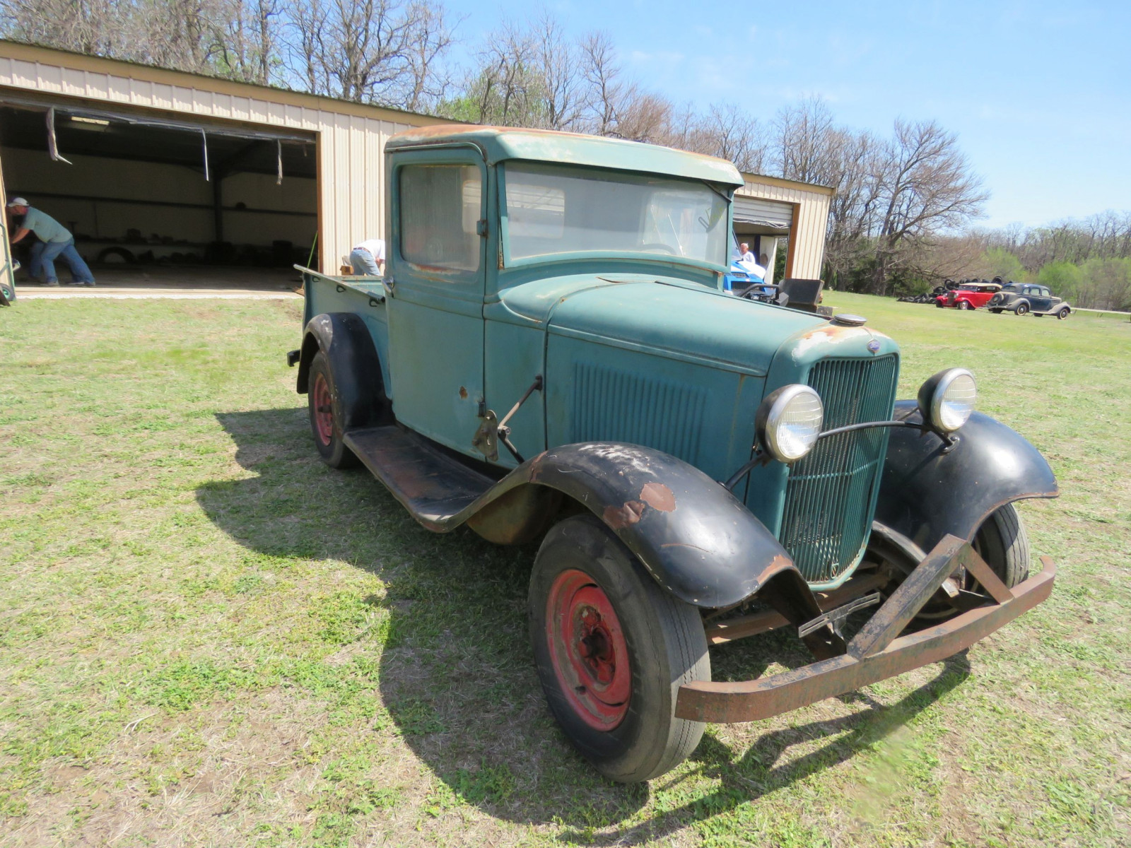 1932 FORD Model B PICKUP SURVIVOR - Image 3