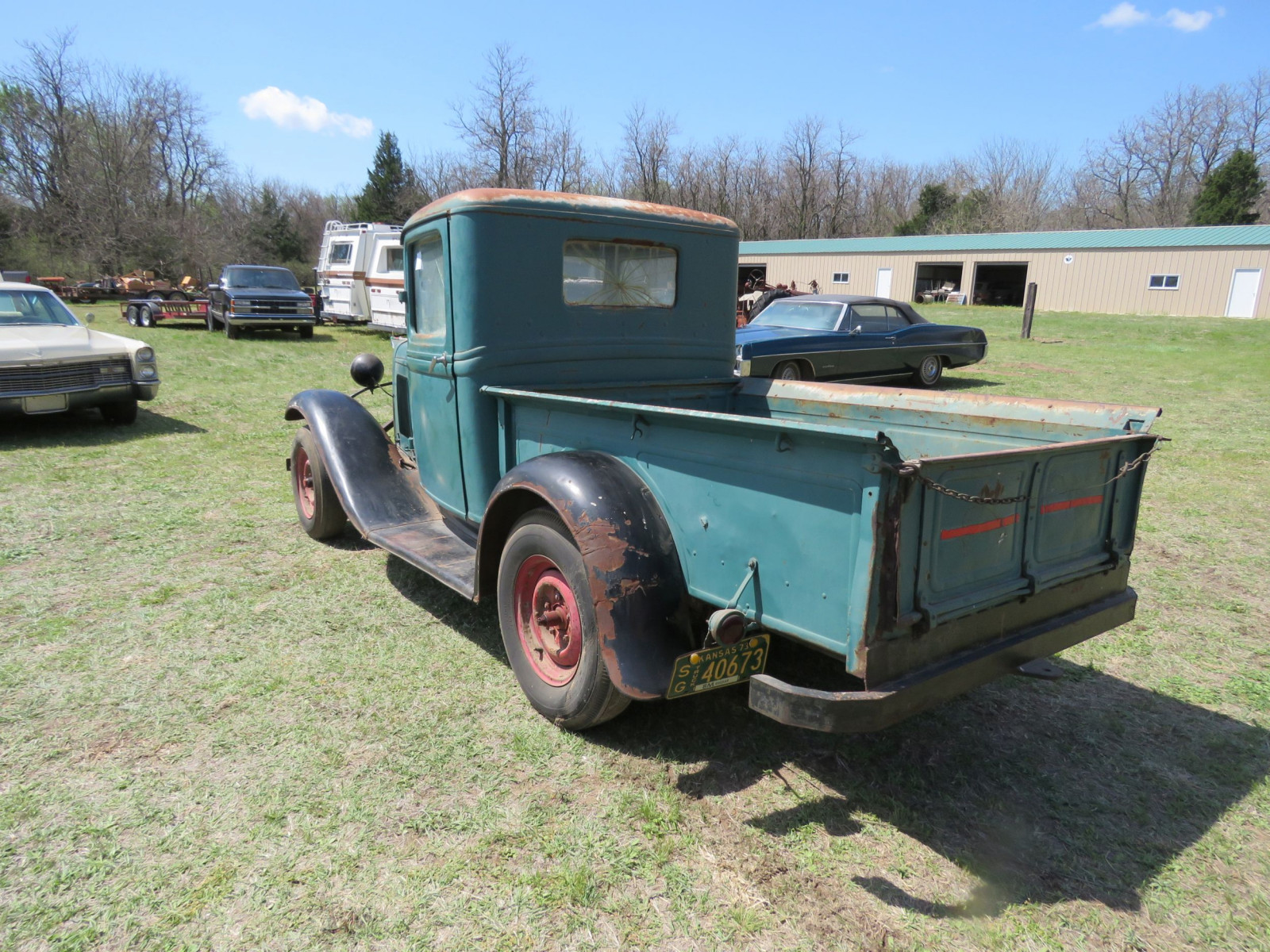 1932 FORD Model B PICKUP SURVIVOR - Image 8
