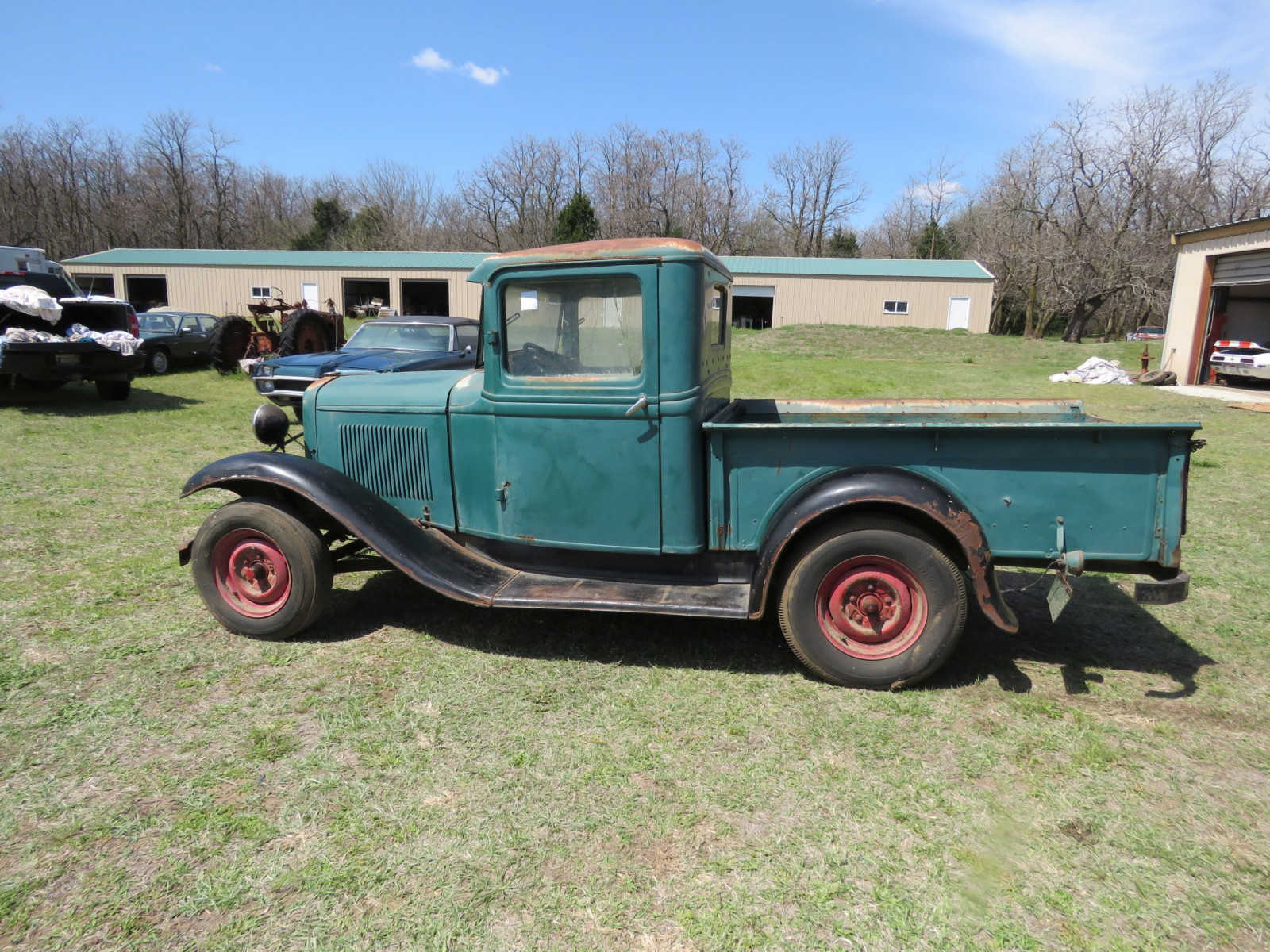 1932 FORD Model B PICKUP SURVIVOR - Image 9