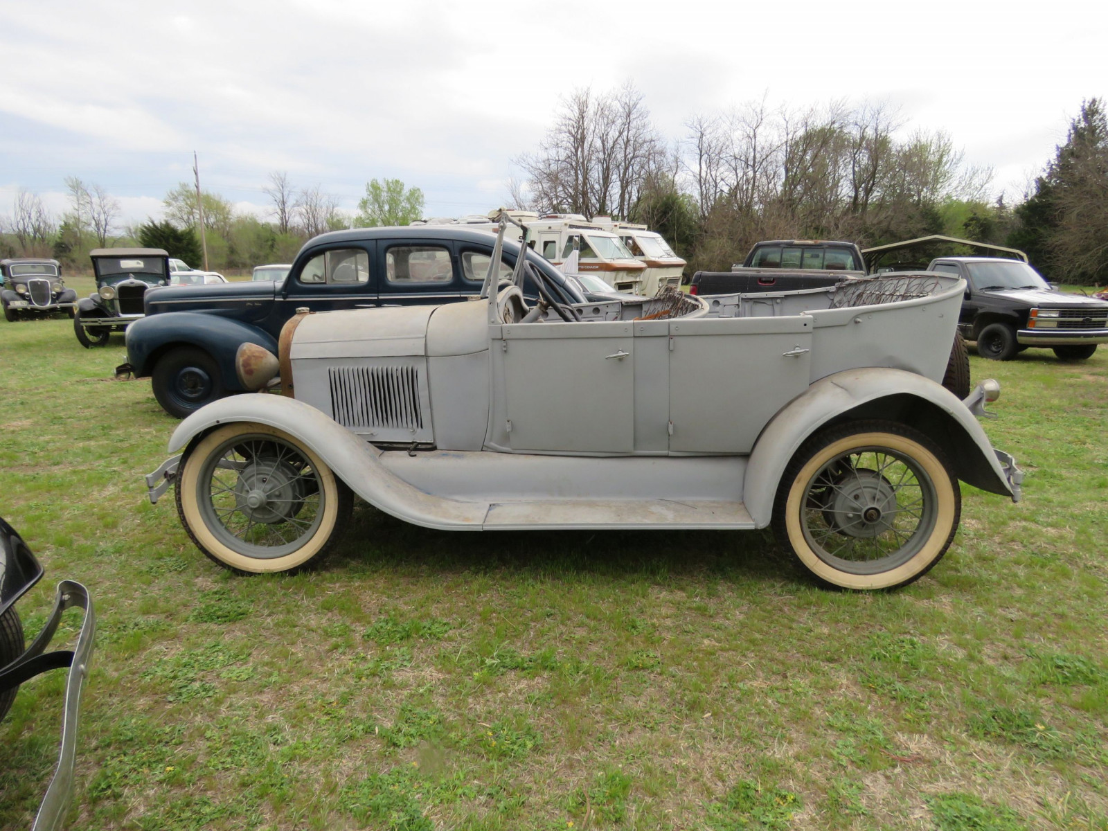 1929 FORD MODEL A PHAETON PROJECT - Image 4