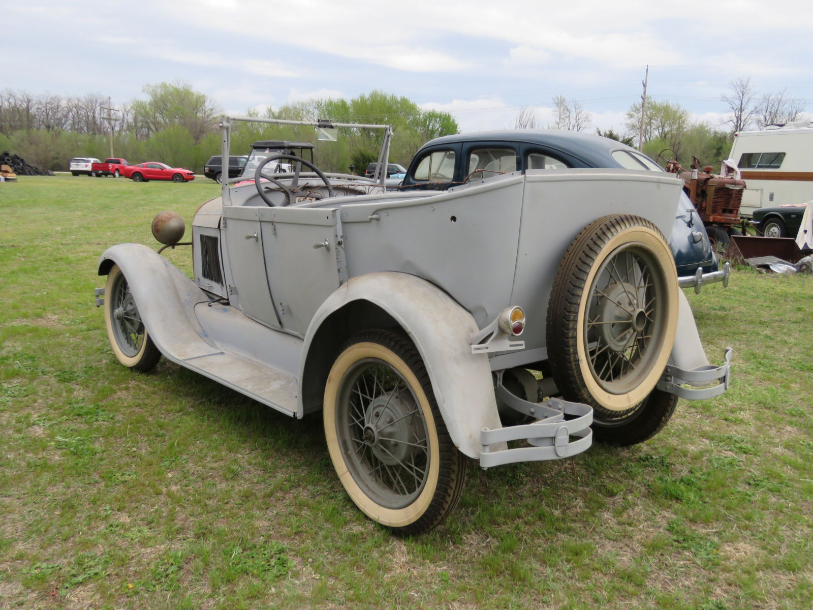 1929 FORD MODEL A PHAETON PROJECT - Image 5