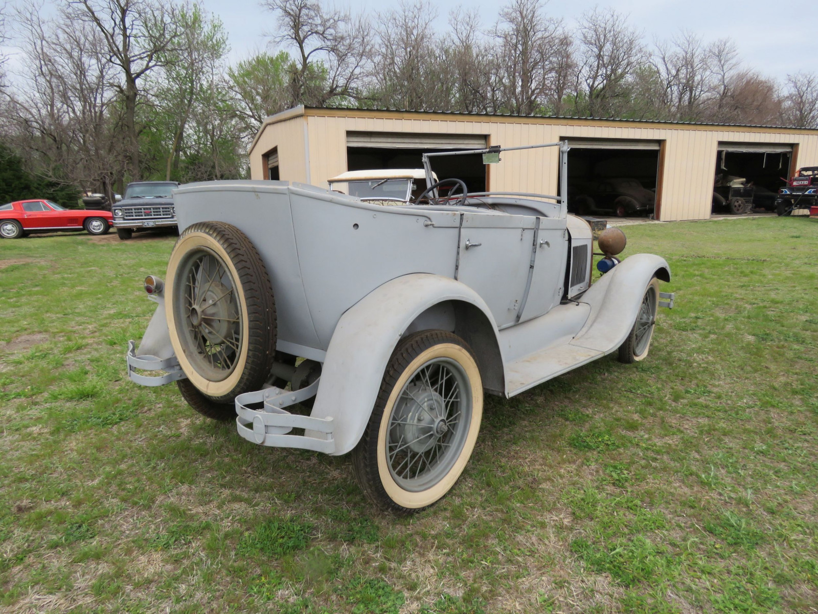 1929 FORD MODEL A PHAETON PROJECT - Image 7