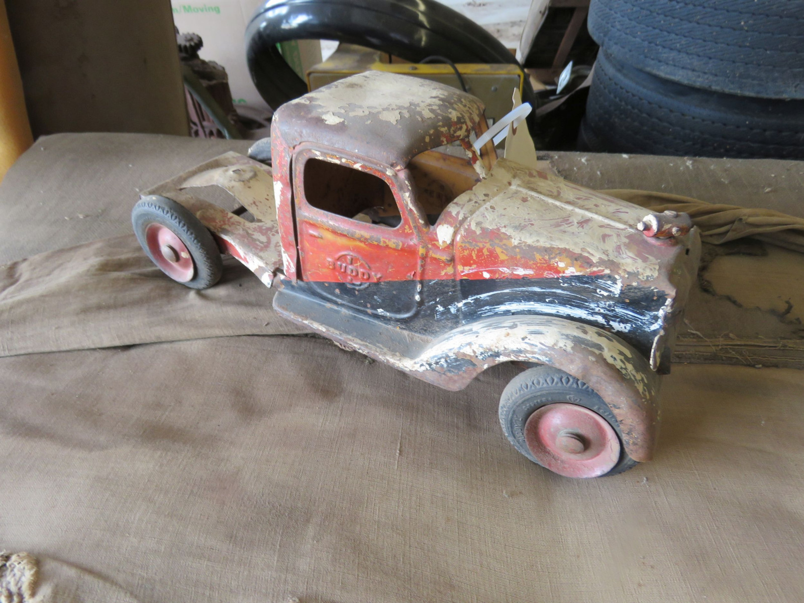 POT METAL PROJECT TOY TRUCK - Image 2