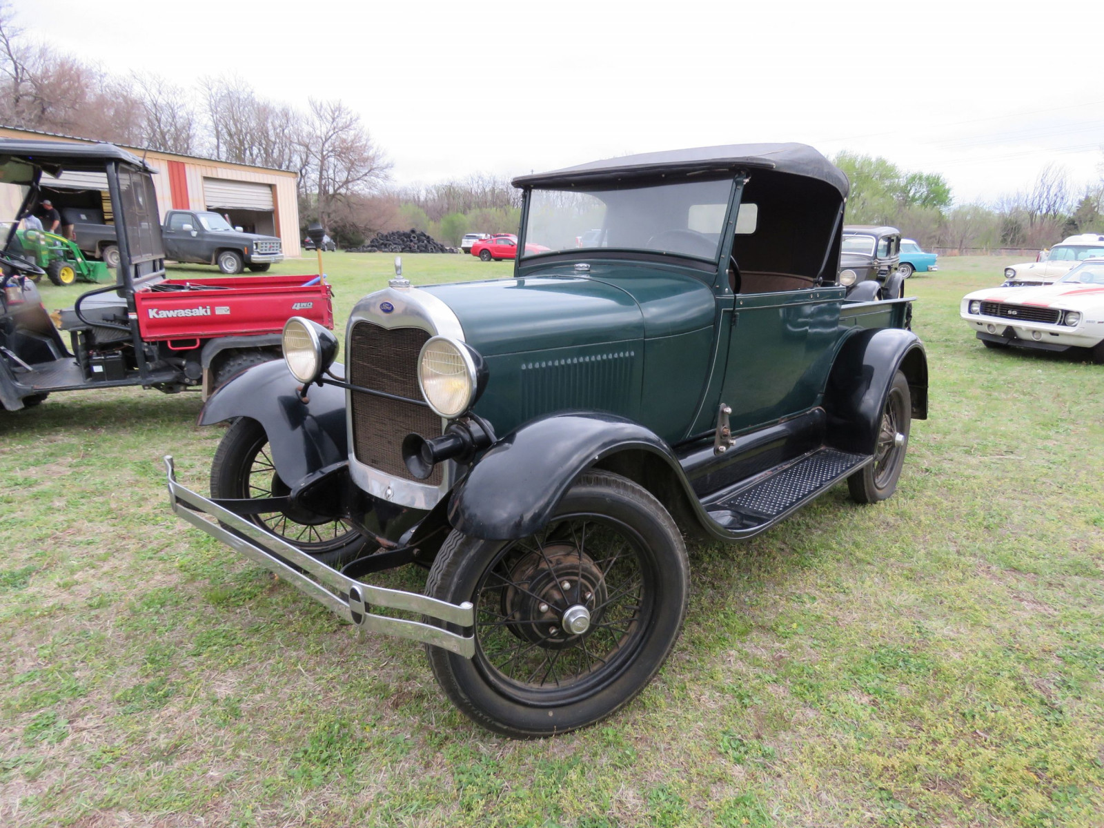 1929 FORD MODEL A ROADSTER PICKUP - Image 3