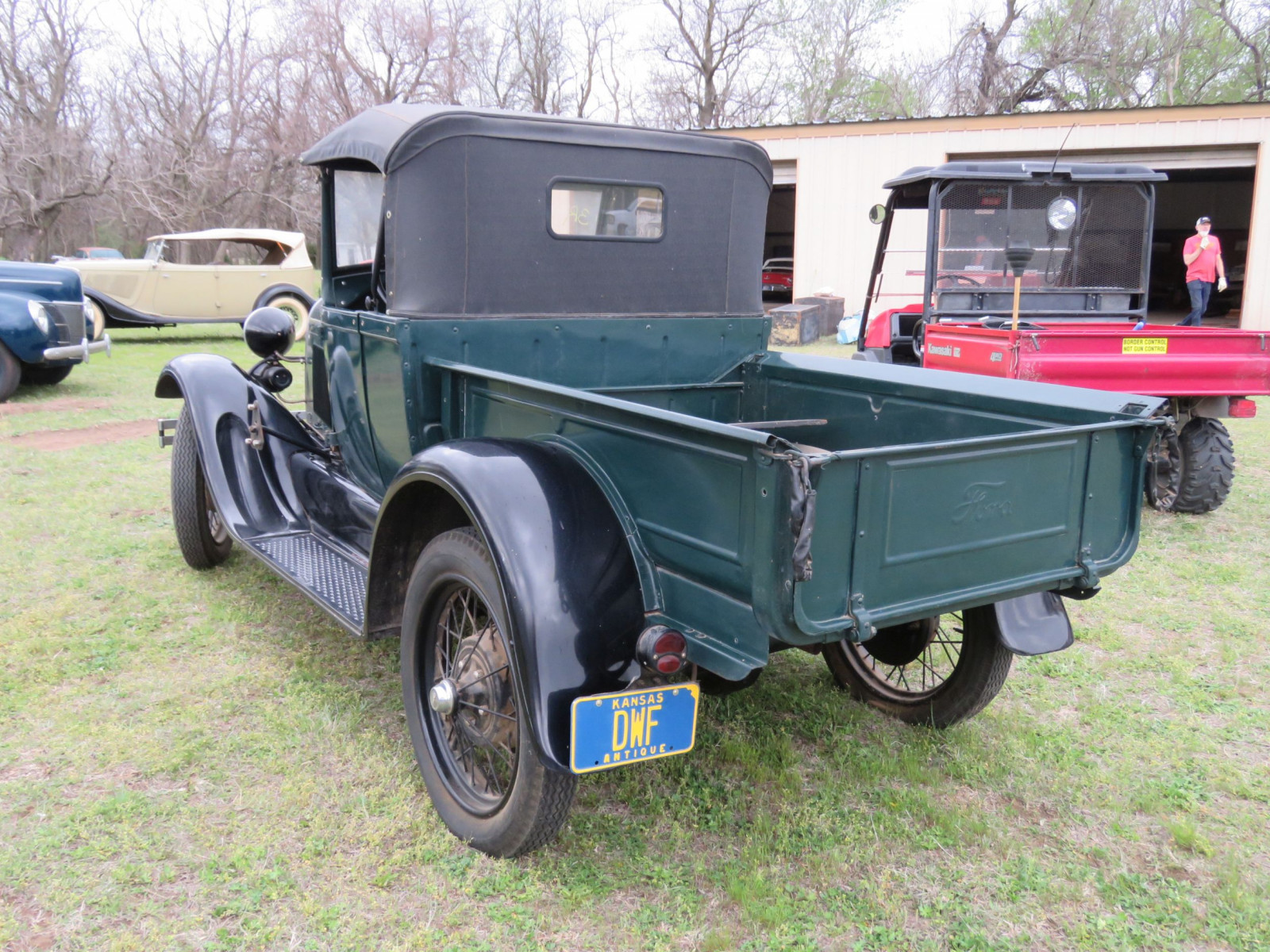 1929 FORD MODEL A ROADSTER PICKUP - Image 5