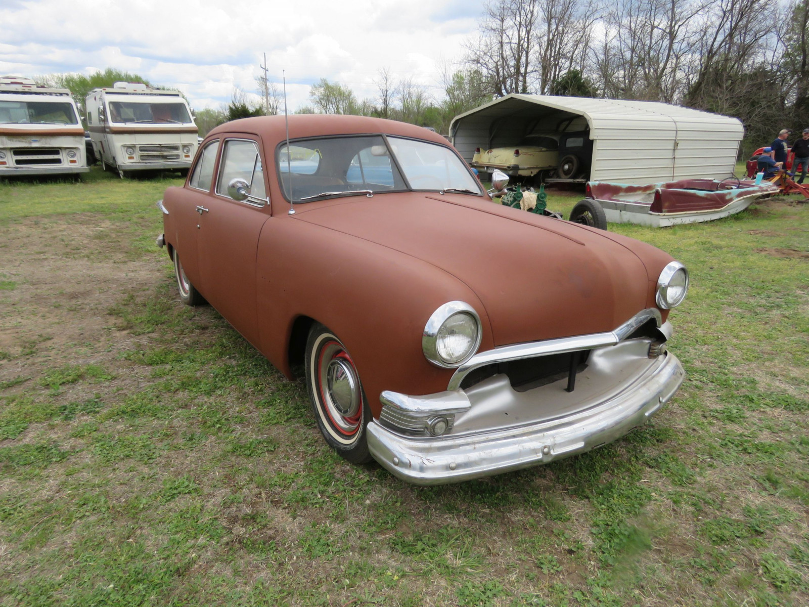 1951 FORD 2DR SEDAN - Image 1