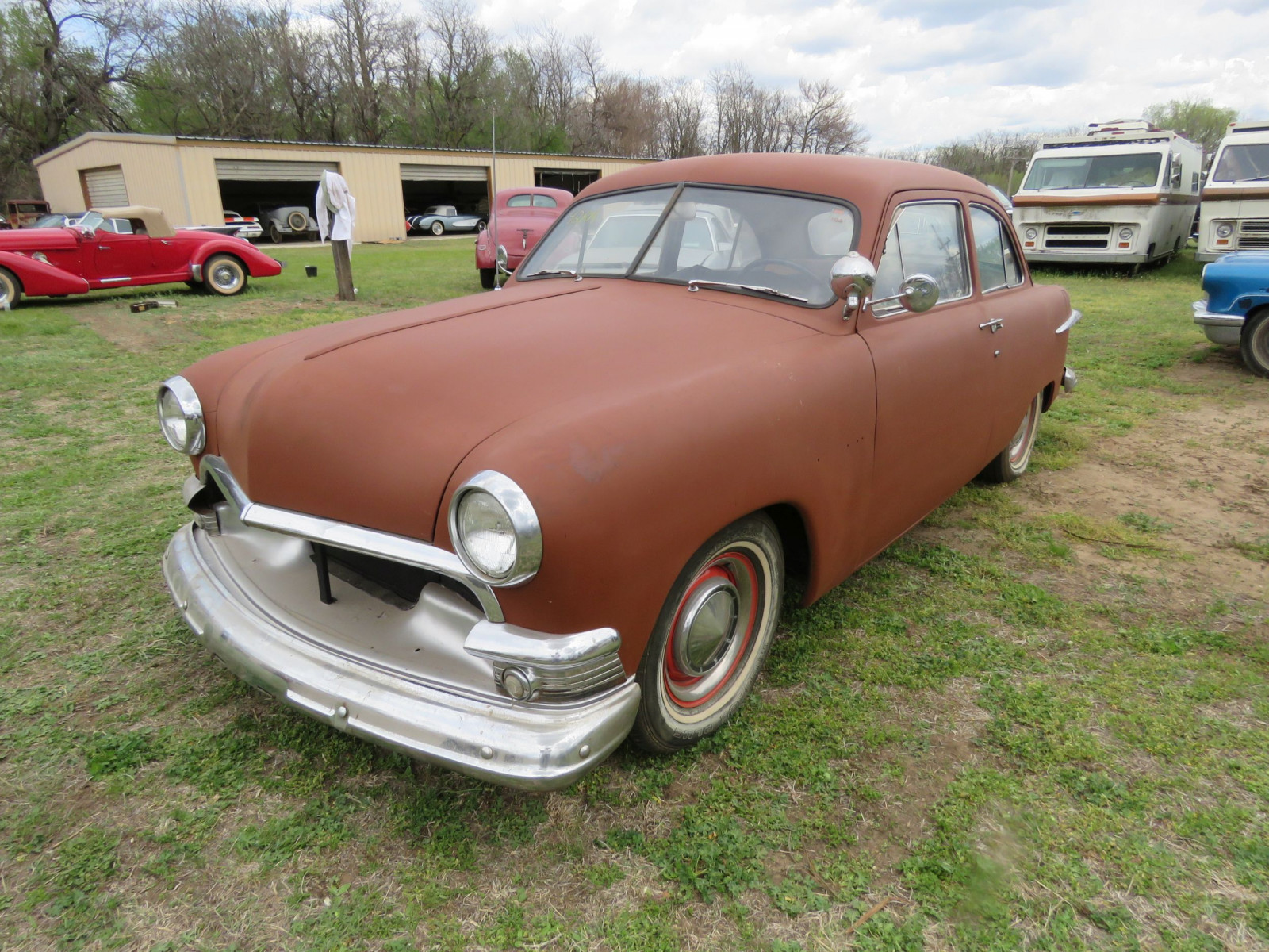 1951 FORD 2DR SEDAN - Image 3