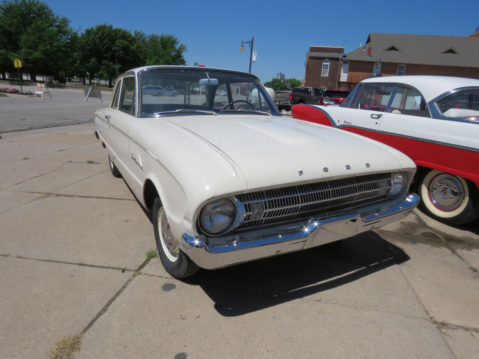 1961 FORD FALCON 2DR SEDAN LESS THAN 10,000 MILES - Image 1