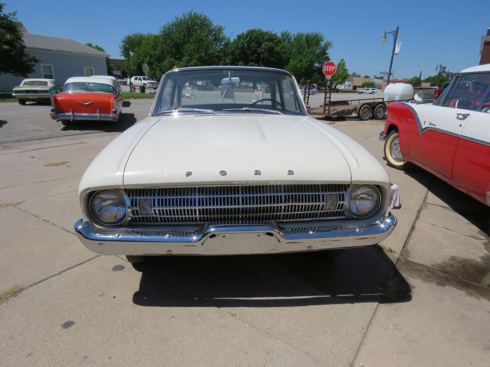 1961 FORD FALCON 2DR SEDAN LESS THAN 10,000 MILES - Image 2
