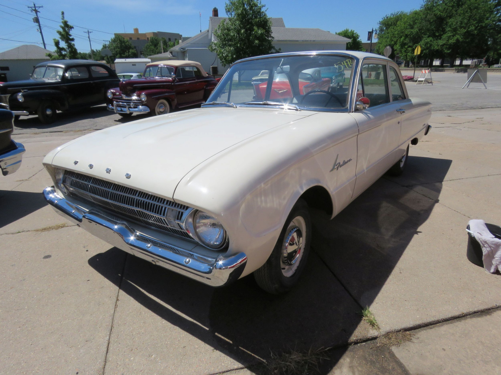 1961 FORD FALCON 2DR SEDAN LESS THAN 10,000 MILES - Image 3