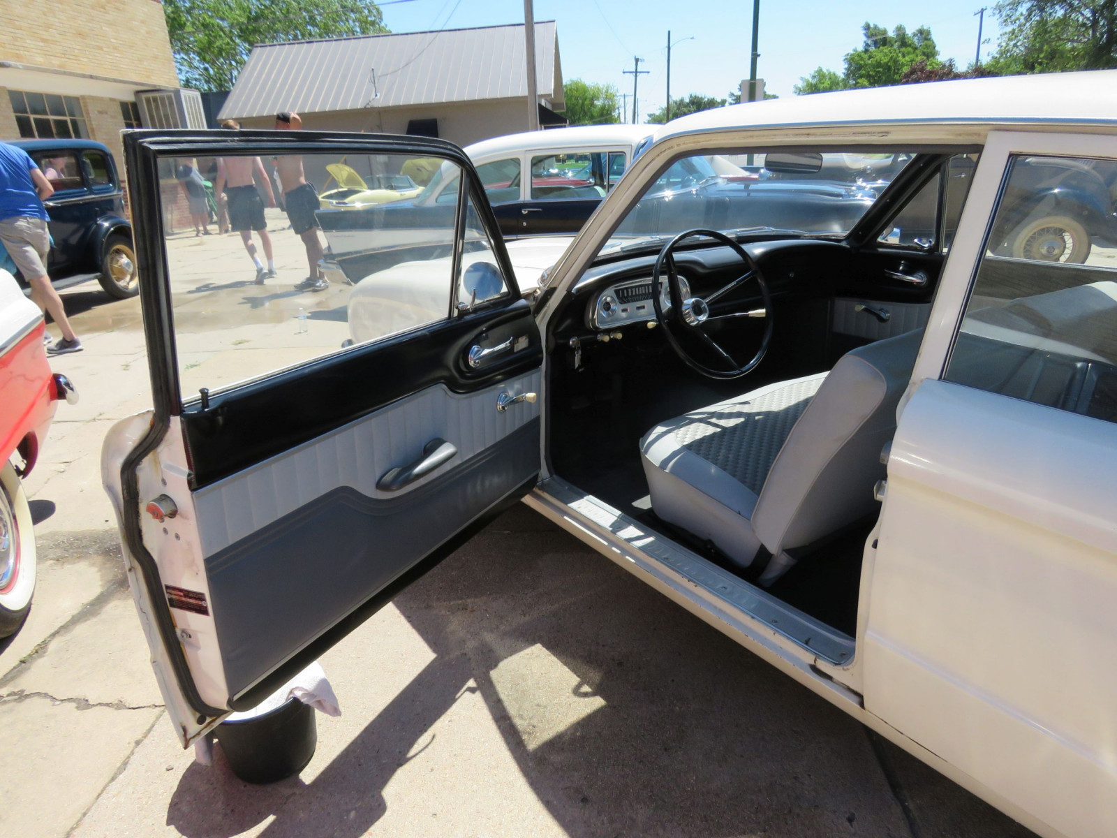 1961 FORD FALCON 2DR SEDAN LESS THAN 10,000 MILES - Image 8