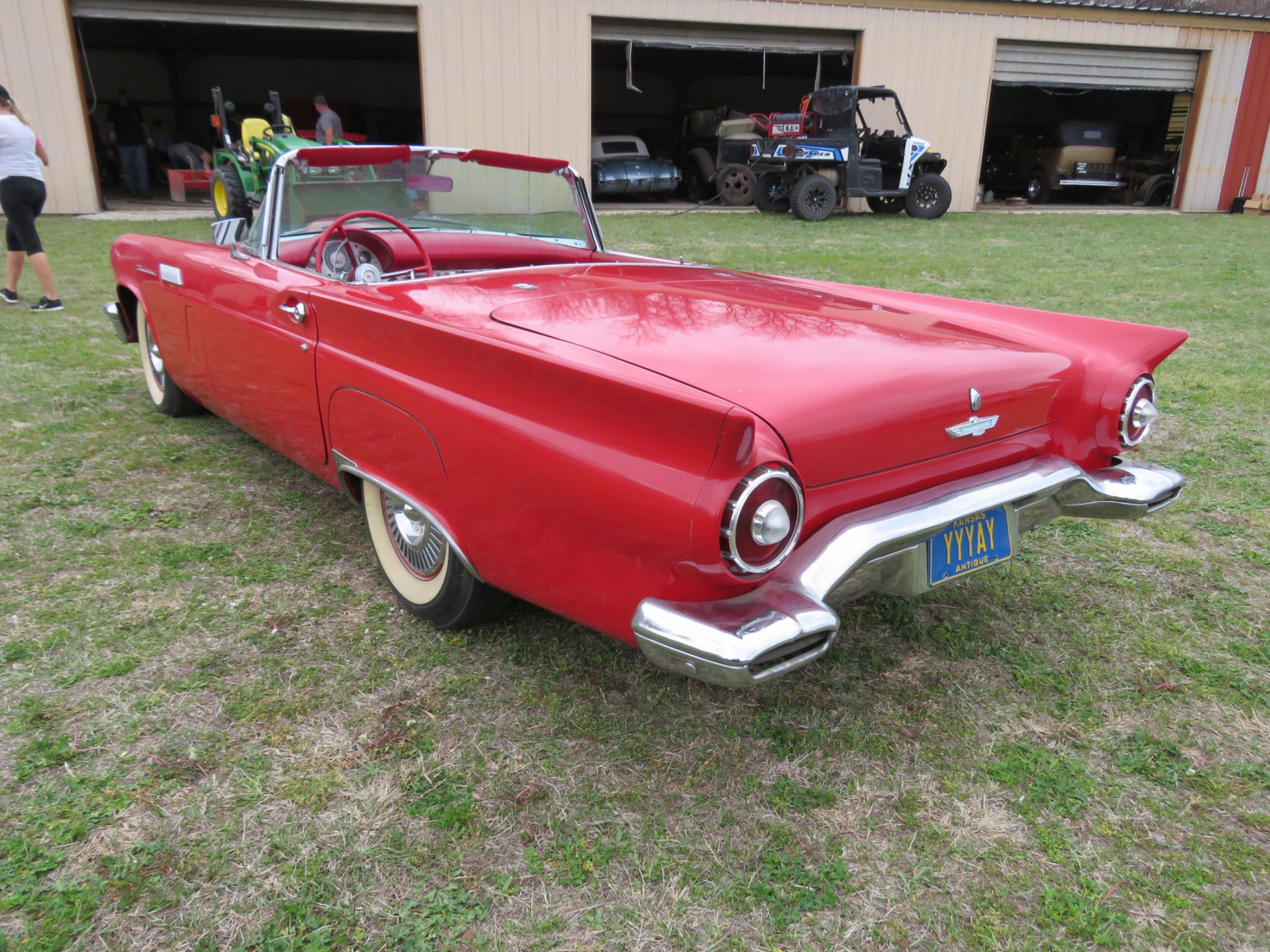 1957 FORD THUNDERBIRD ROADSTER - Image 8