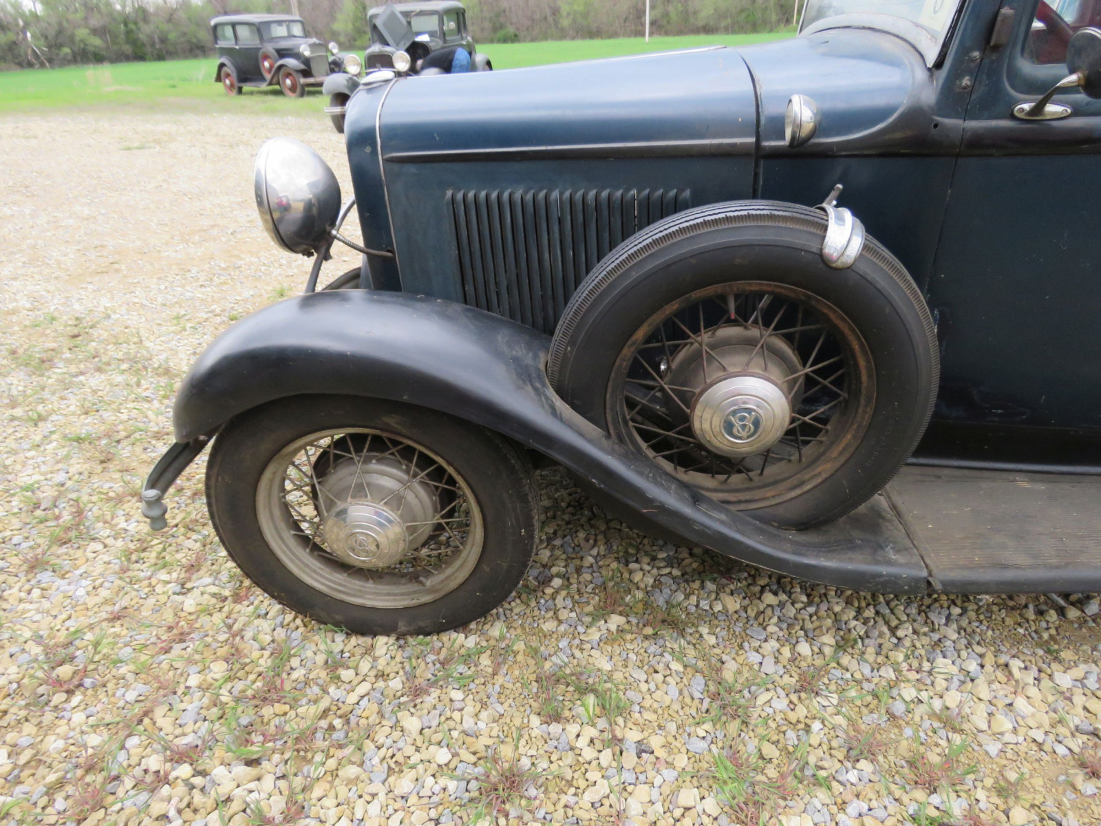 RARE 1932 FORD B400 2DR CONVERTIBLE V8 SEDAN - Image 10