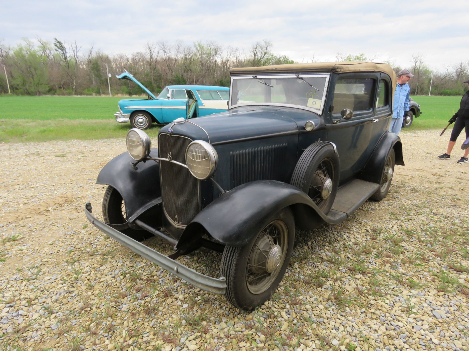 RARE 1932 FORD B400 2DR CONVERTIBLE V8 SEDAN - Image 11