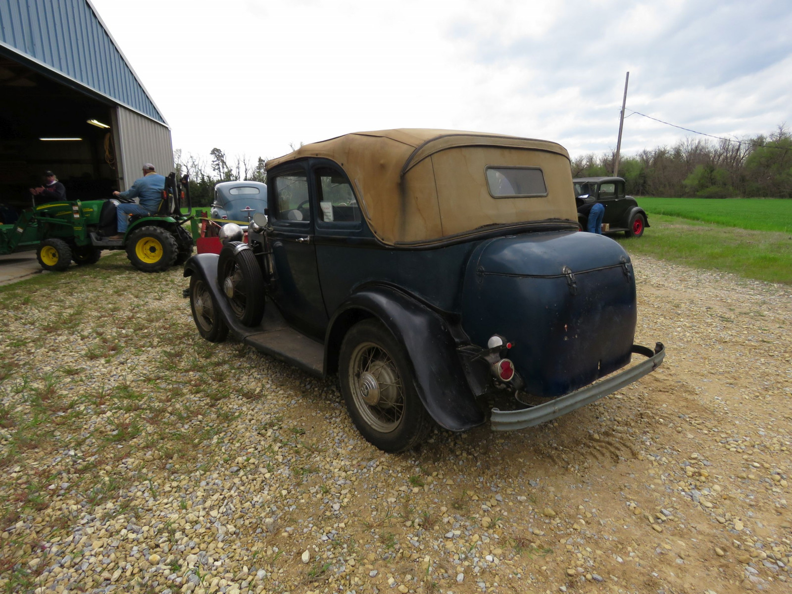 RARE 1932 FORD B400 2DR CONVERTIBLE V8 SEDAN - Image 8