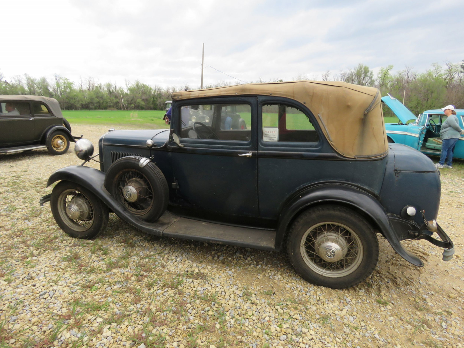RARE 1932 FORD B400 2DR CONVERTIBLE V8 SEDAN - Image 9