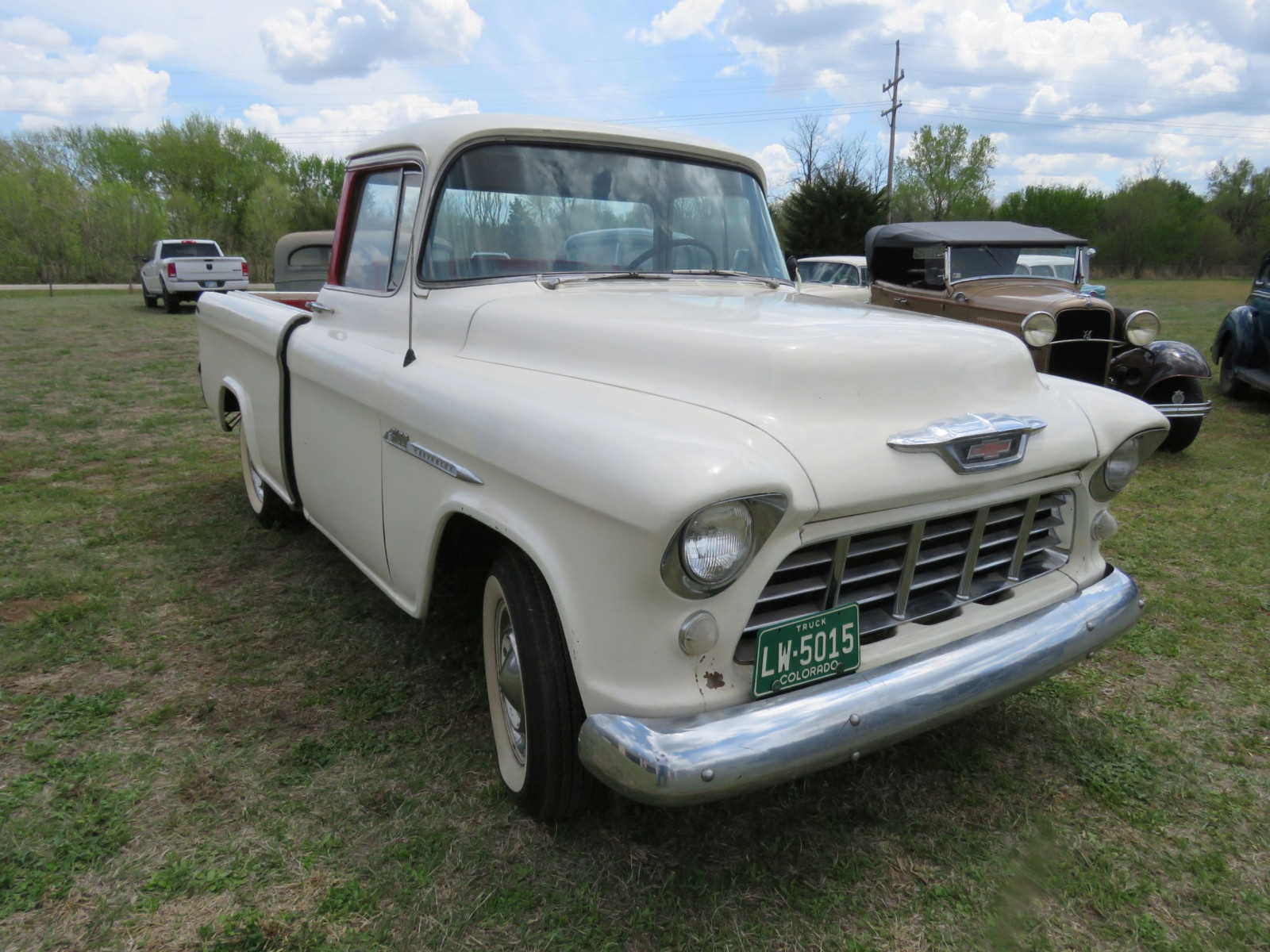 1955 CHEVROLET CAMEO PICKUP - Image 3