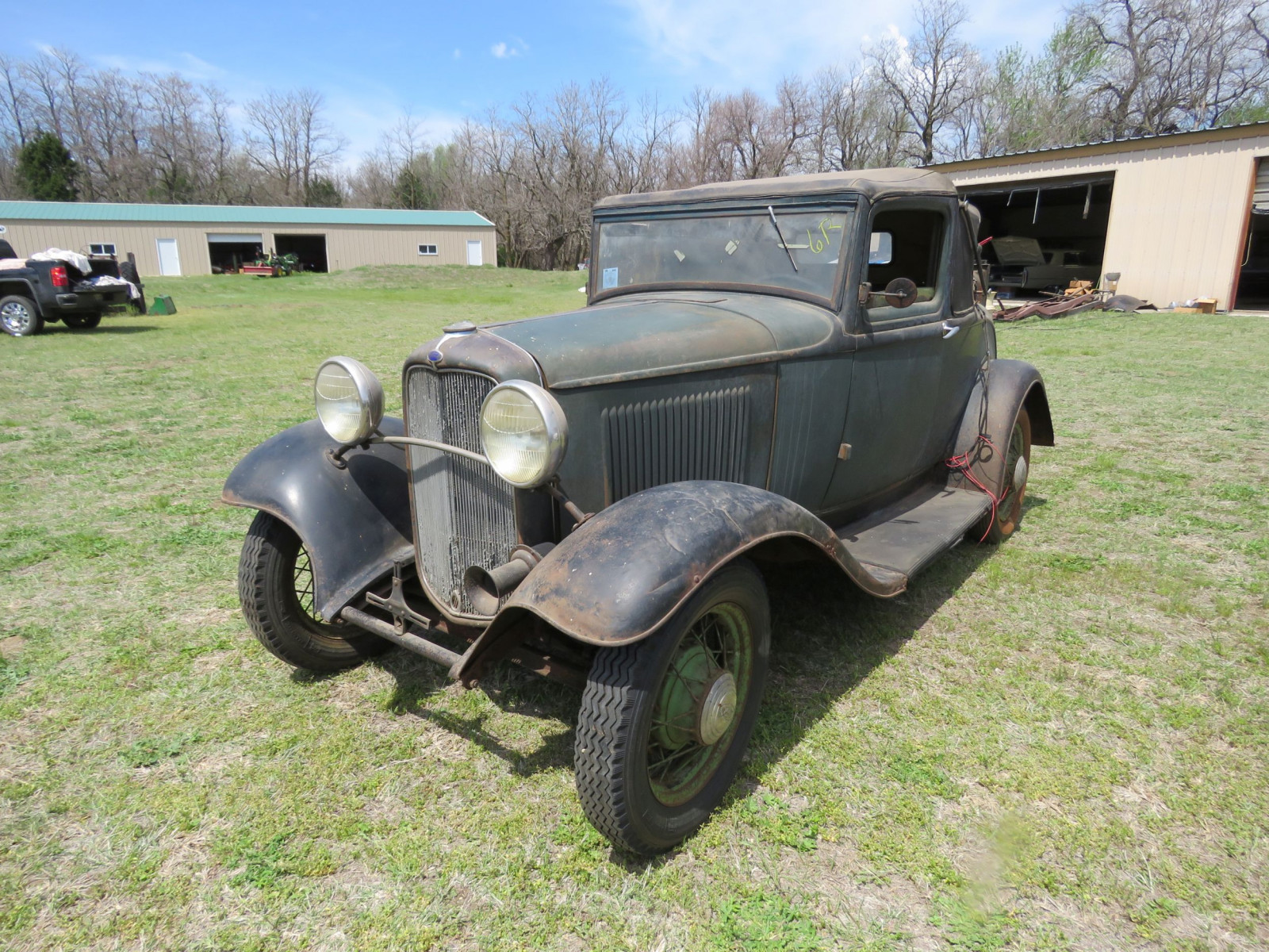 1932 FORD SPORT COUPE ORIGINAL PROJECT - Image 1
