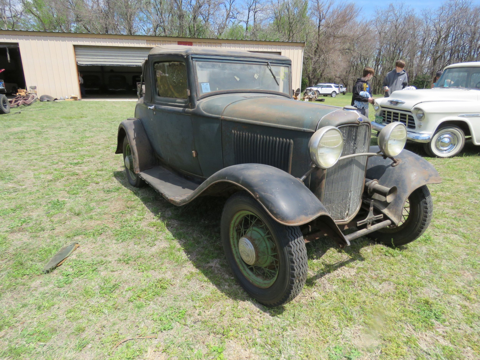 1932 FORD SPORT COUPE ORIGINAL PROJECT - Image 3