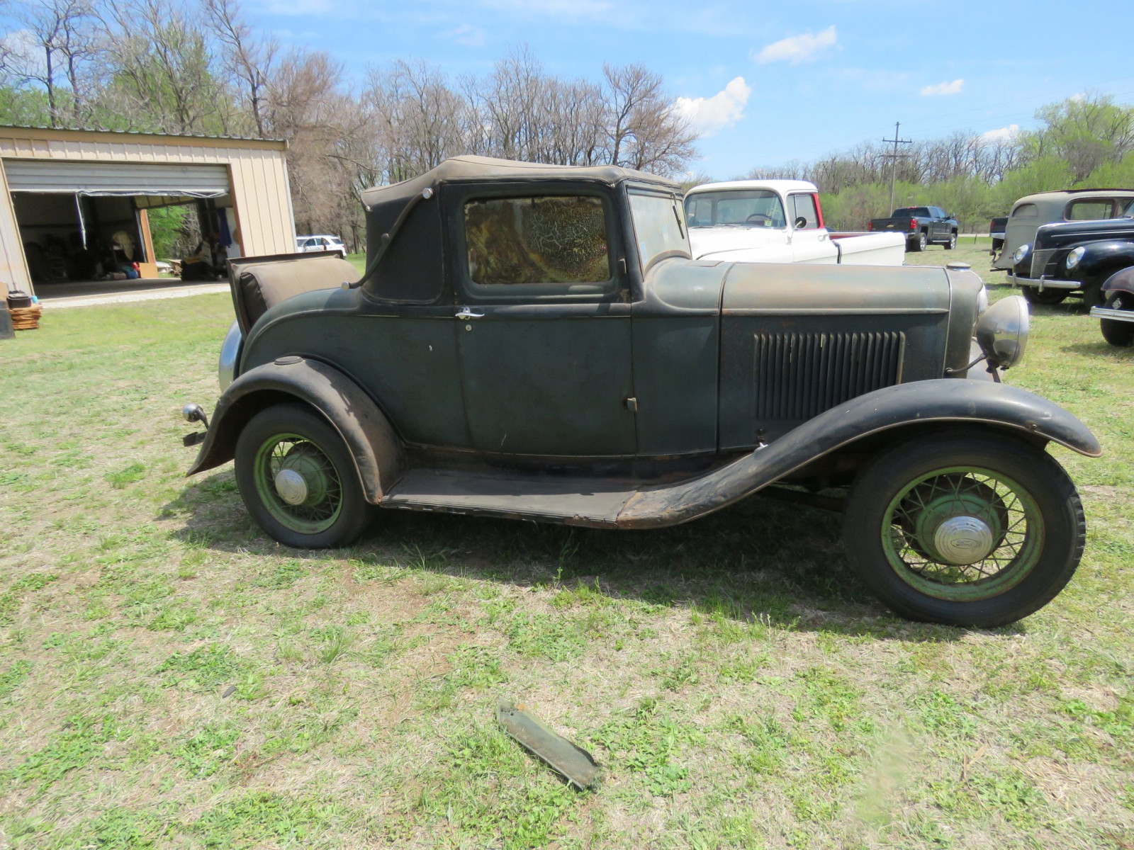 1932 FORD SPORT COUPE ORIGINAL PROJECT - Image 4