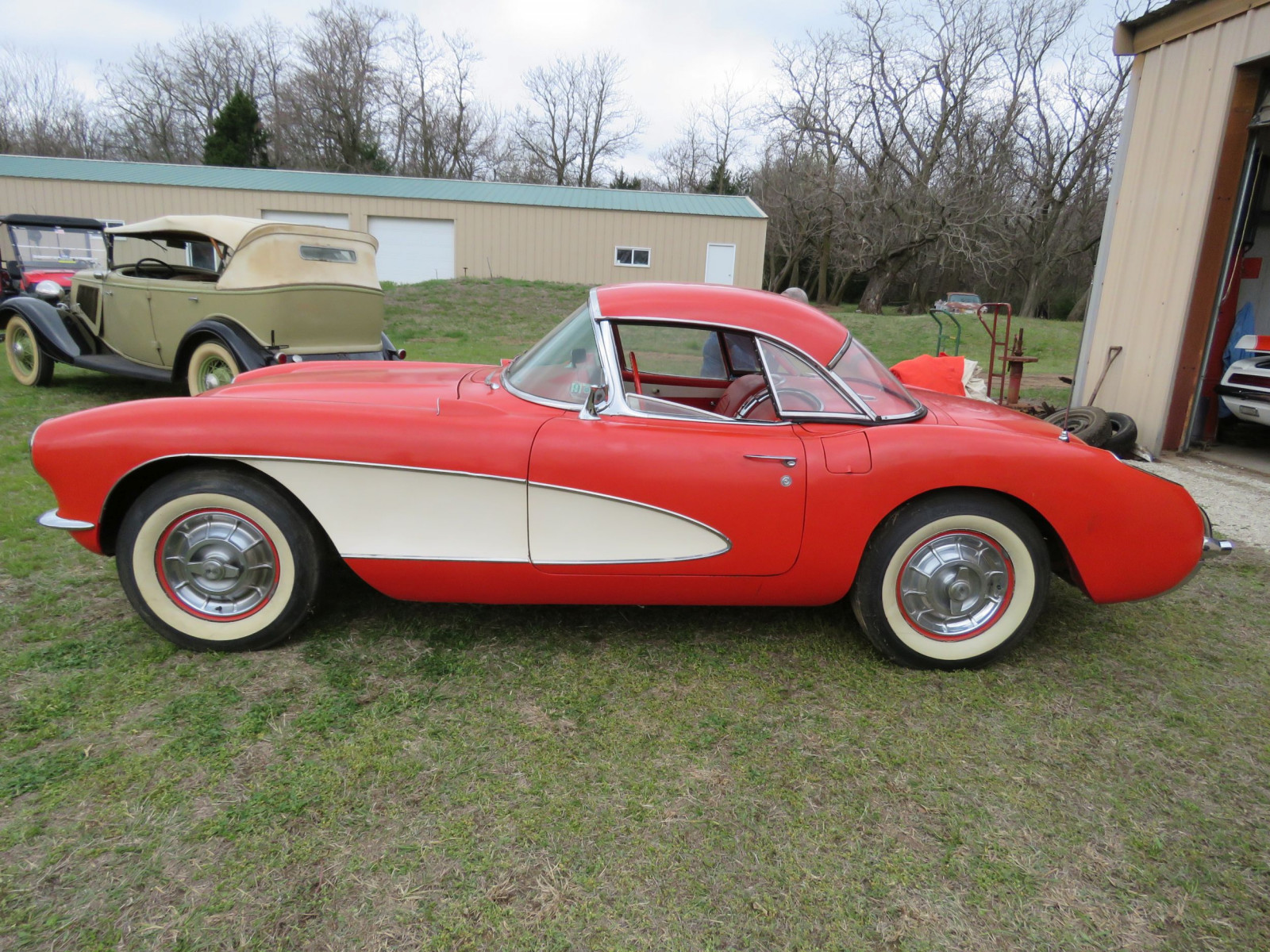 1956 CHEVROLET COUPE CORVETTE - Image 4