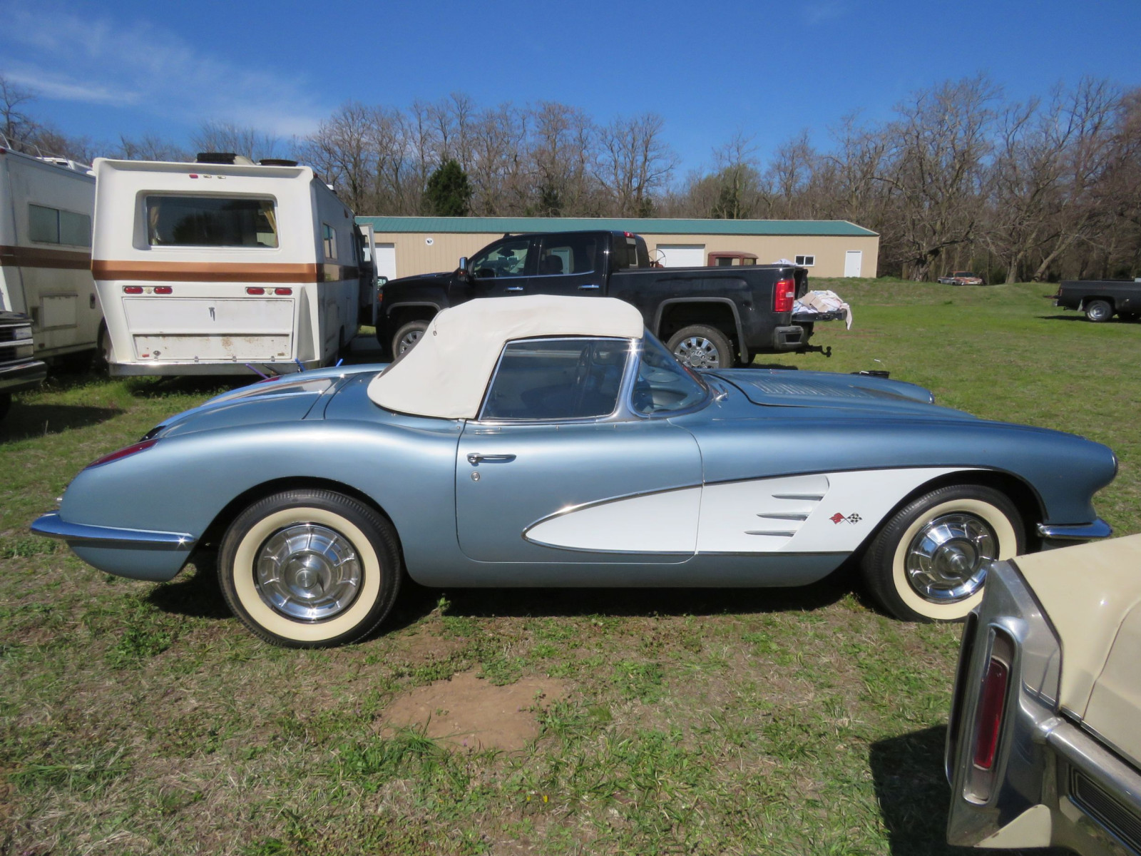1958 CHEVROLET CORVETTE ROADSTER - Image 4