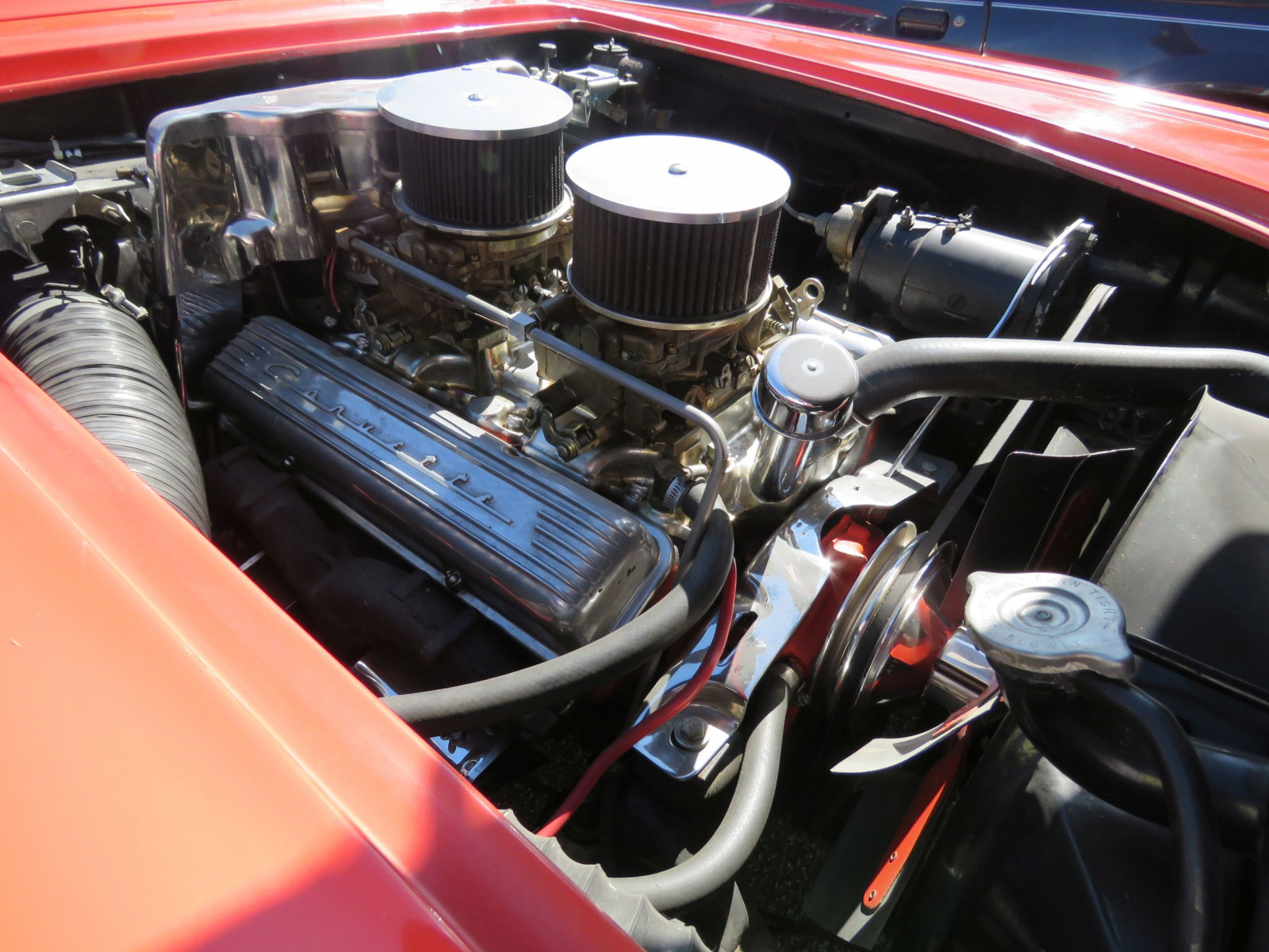 1958 CHEVROLET CORVETTE FUEL INJECTED ROADSTER - Image 20