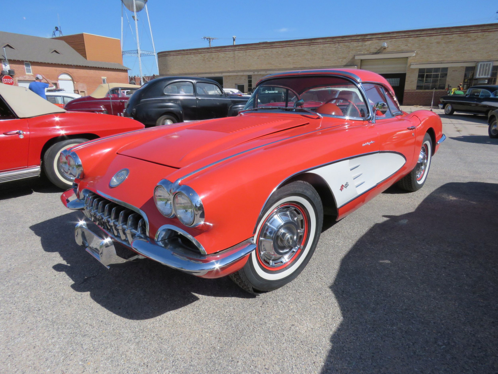 1958 CHEVROLET CORVETTE FUEL INJECTED ROADSTER - Image 3