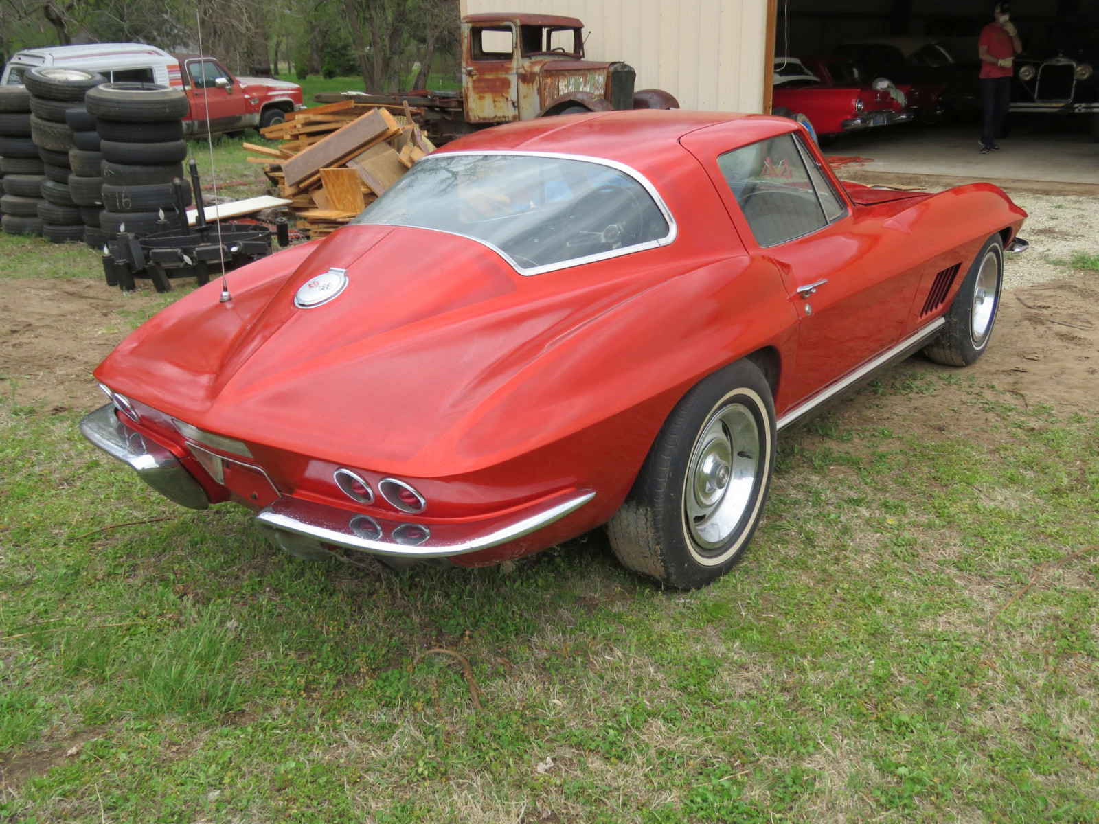 1967 CHEVROLET CORVETTE STINGRAY COUPE - Image 7
