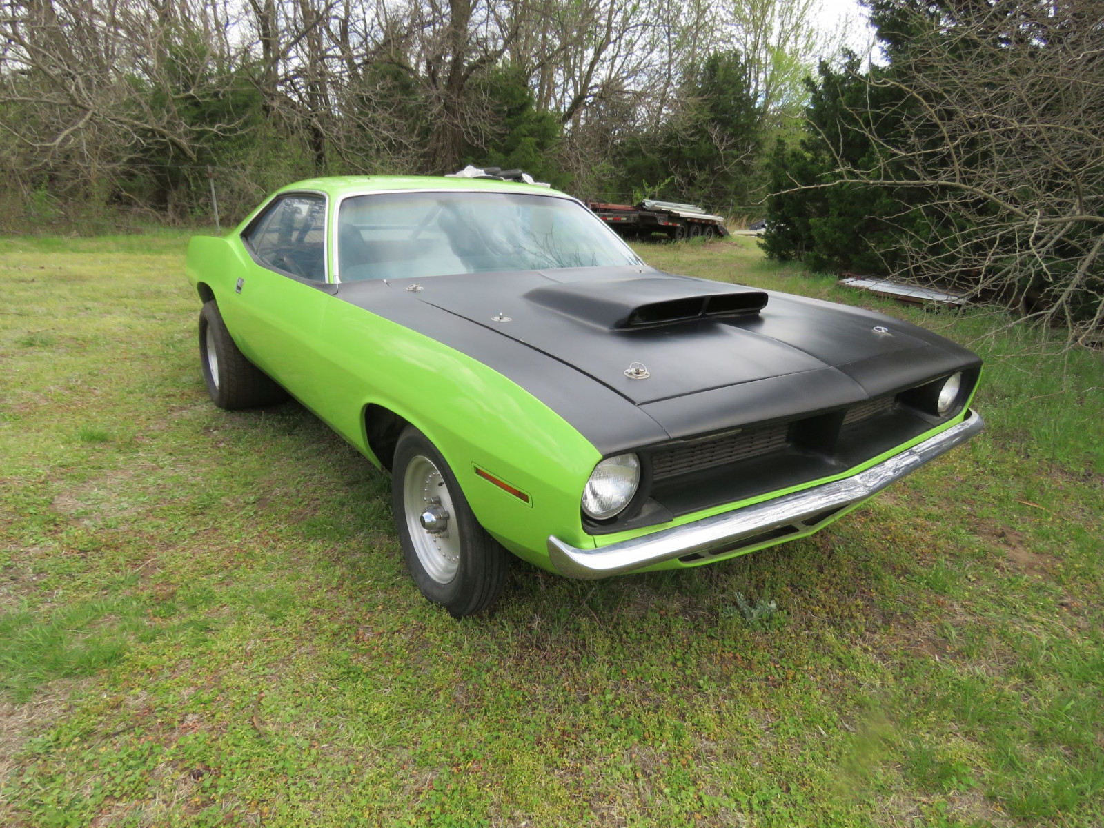 1970 PLYMOUTH CUDA DRAG CAR - Image 1
