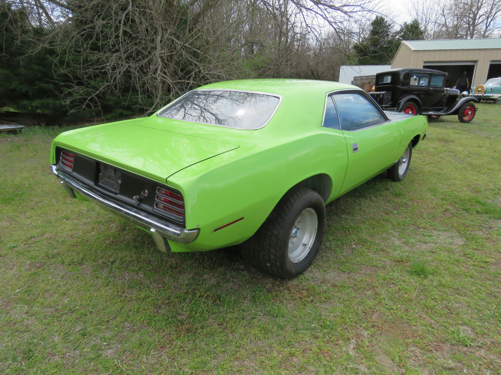 1970 PLYMOUTH CUDA DRAG CAR - Image 10