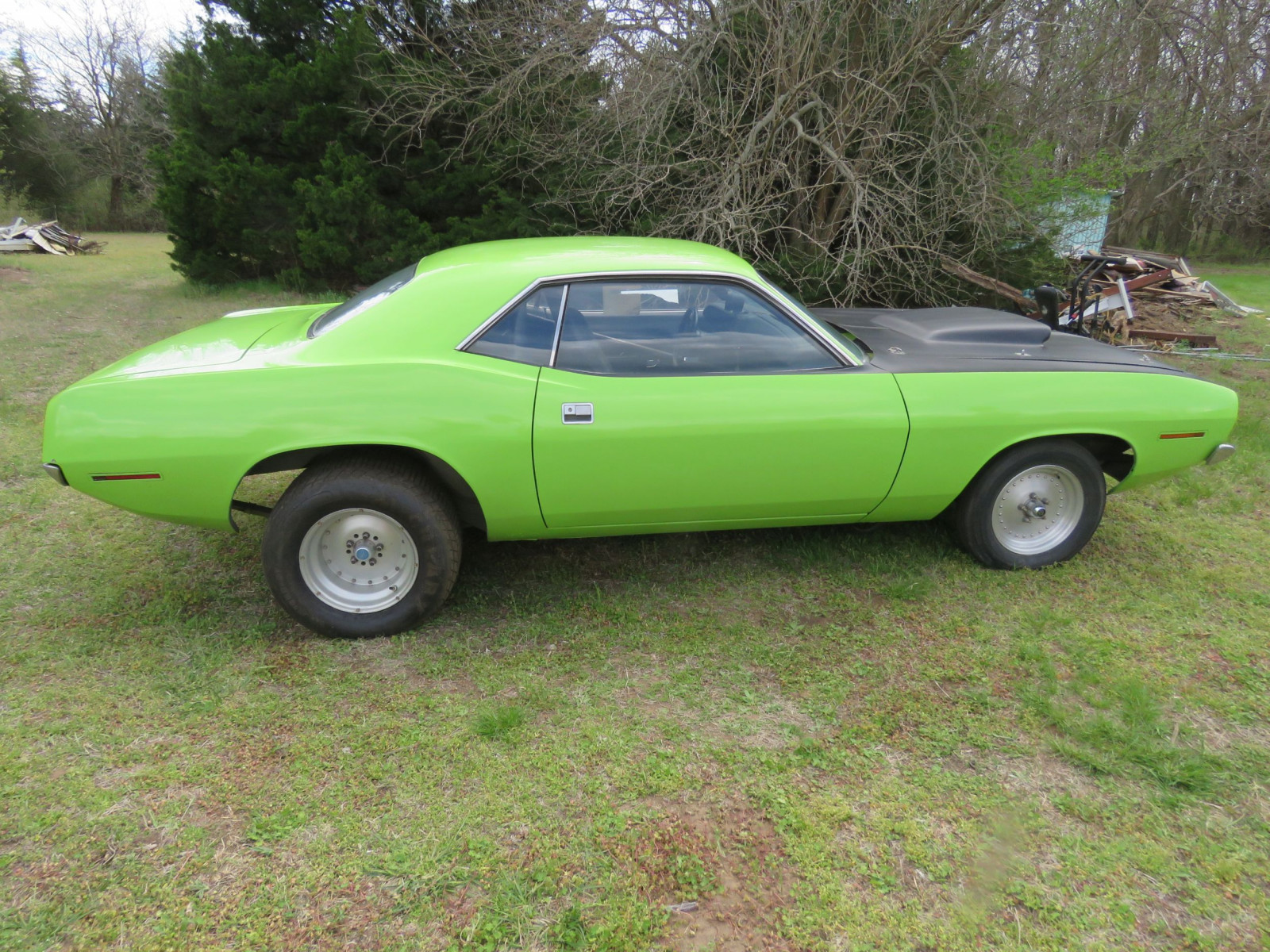 1970 PLYMOUTH CUDA DRAG CAR - Image 11