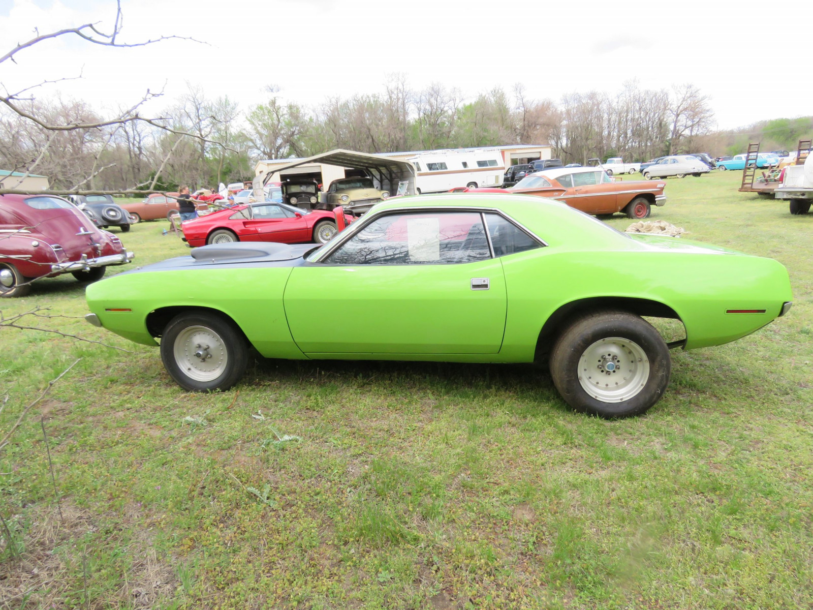 1970 PLYMOUTH CUDA DRAG CAR - Image 4